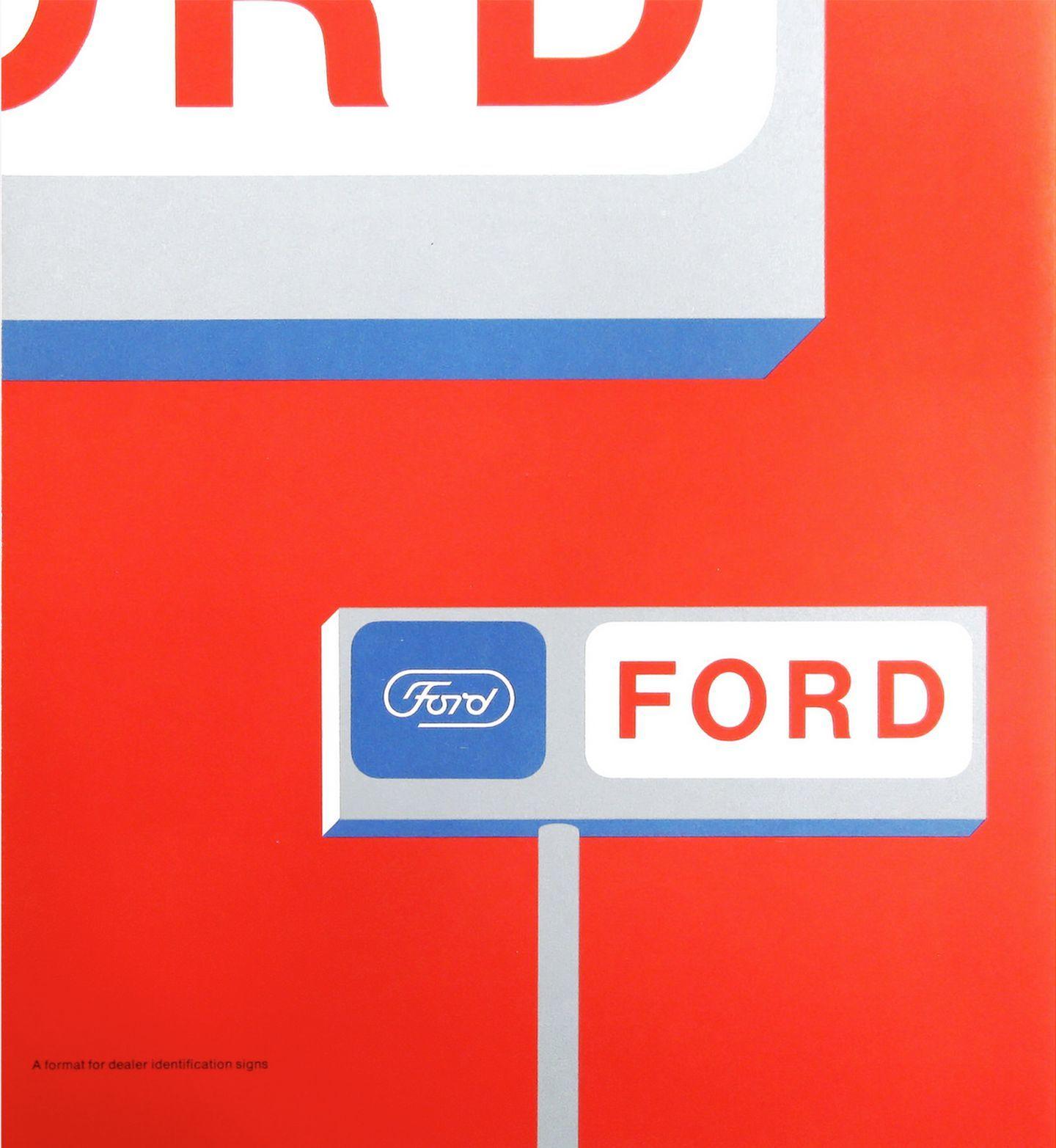 Logotipo Ford Paul Rand 4