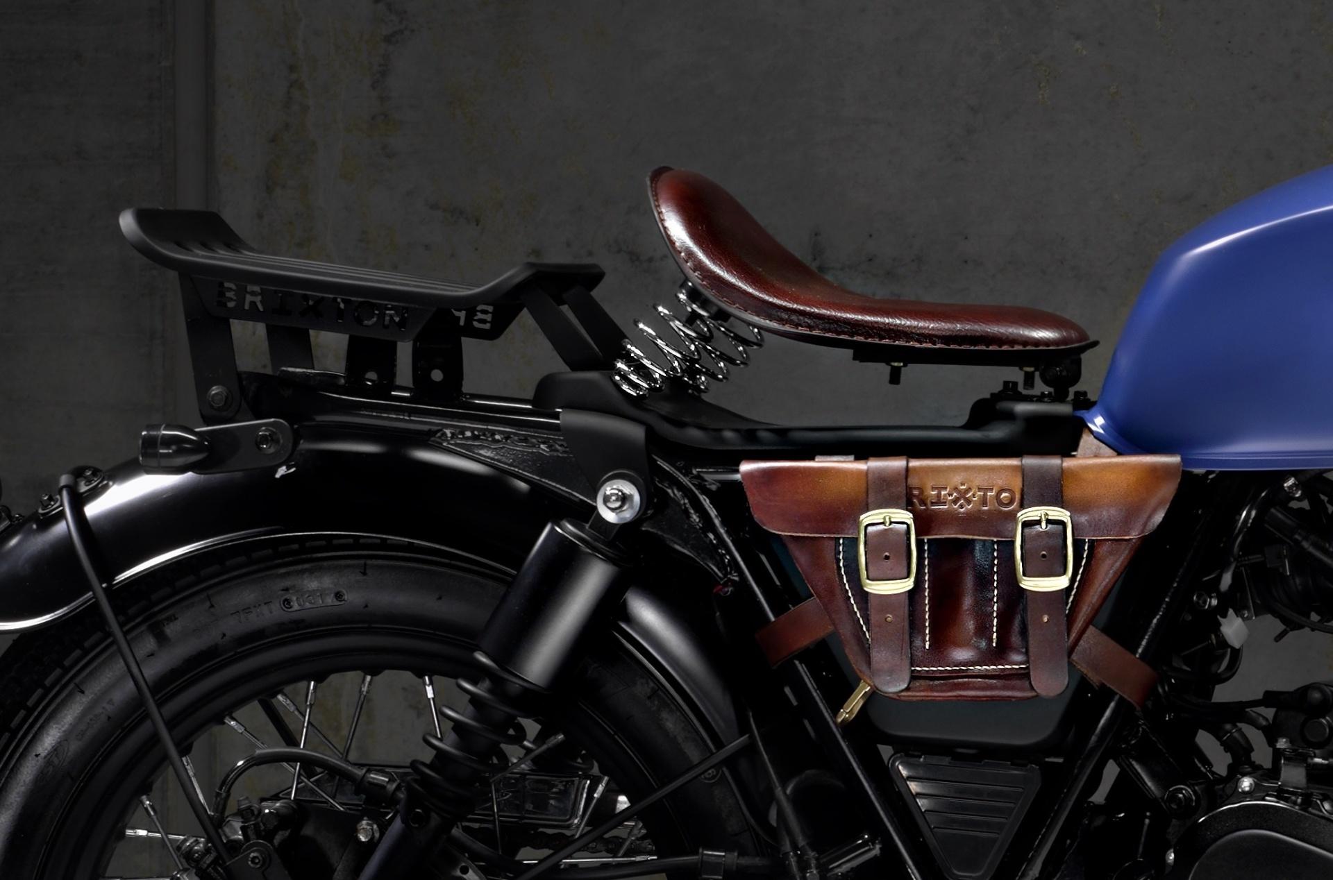 Moto Brixton Rayburn 125 Bobber Asiento