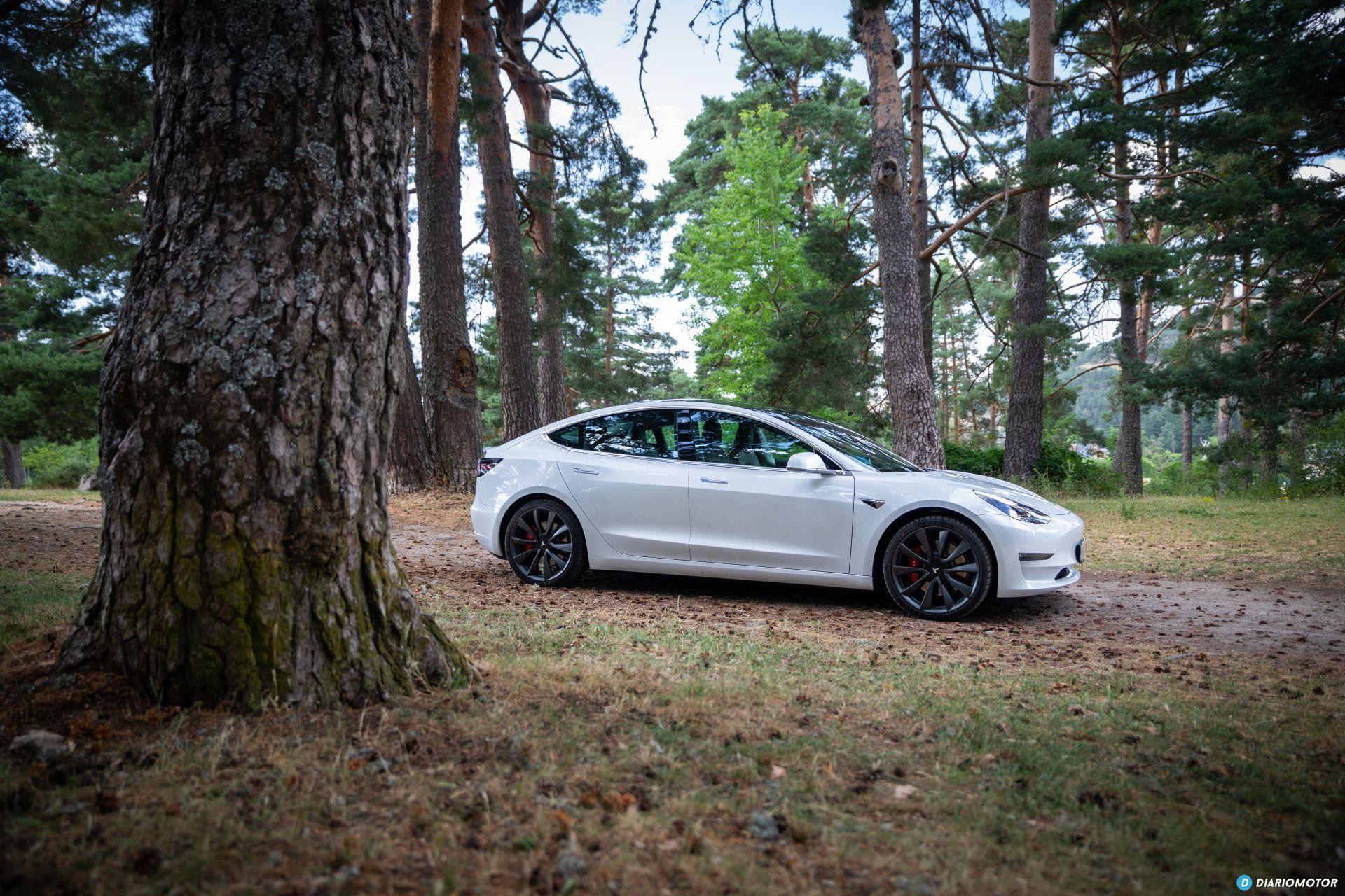 Prueba Tesla Model 3 Performance 1