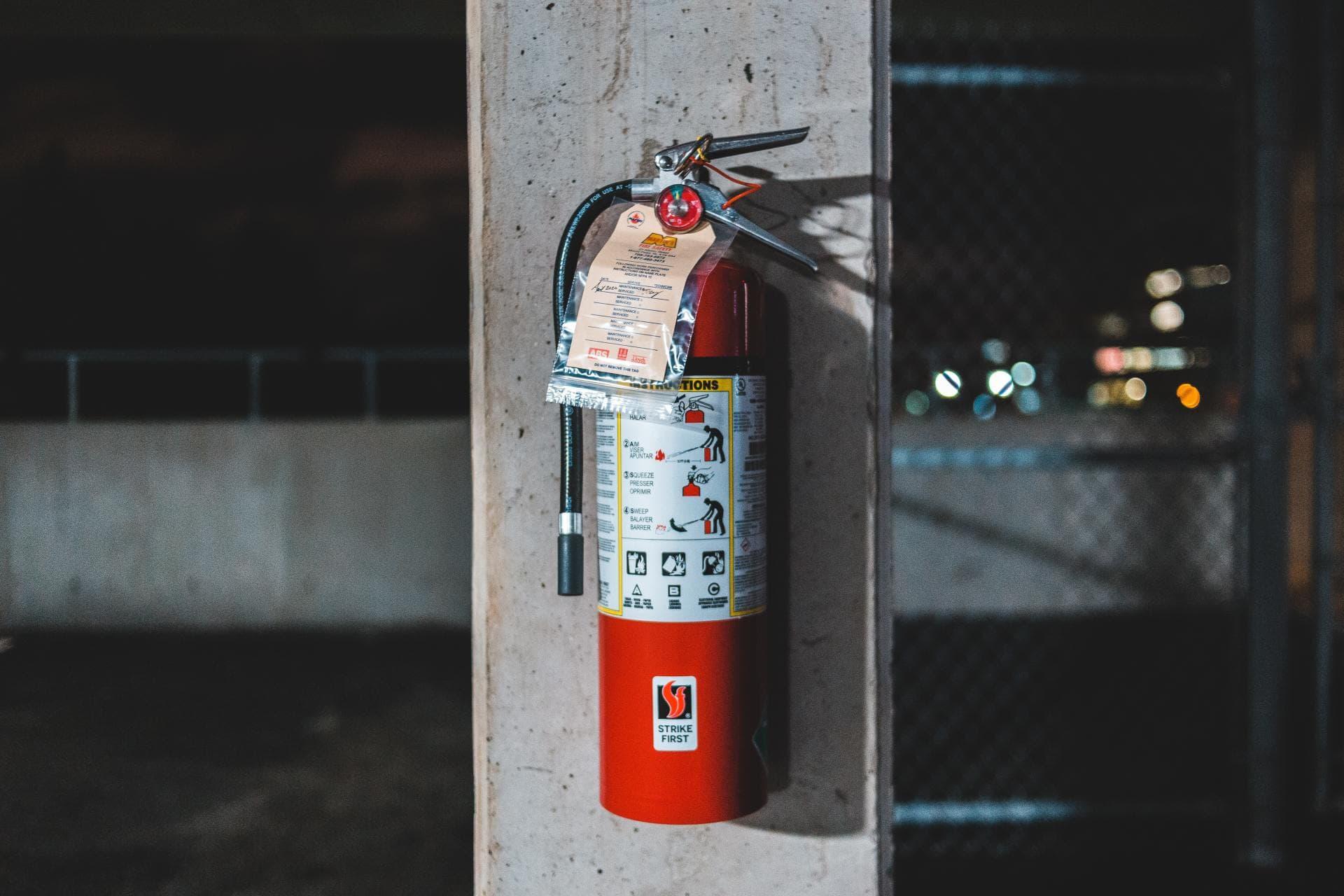 Remolque Extintor