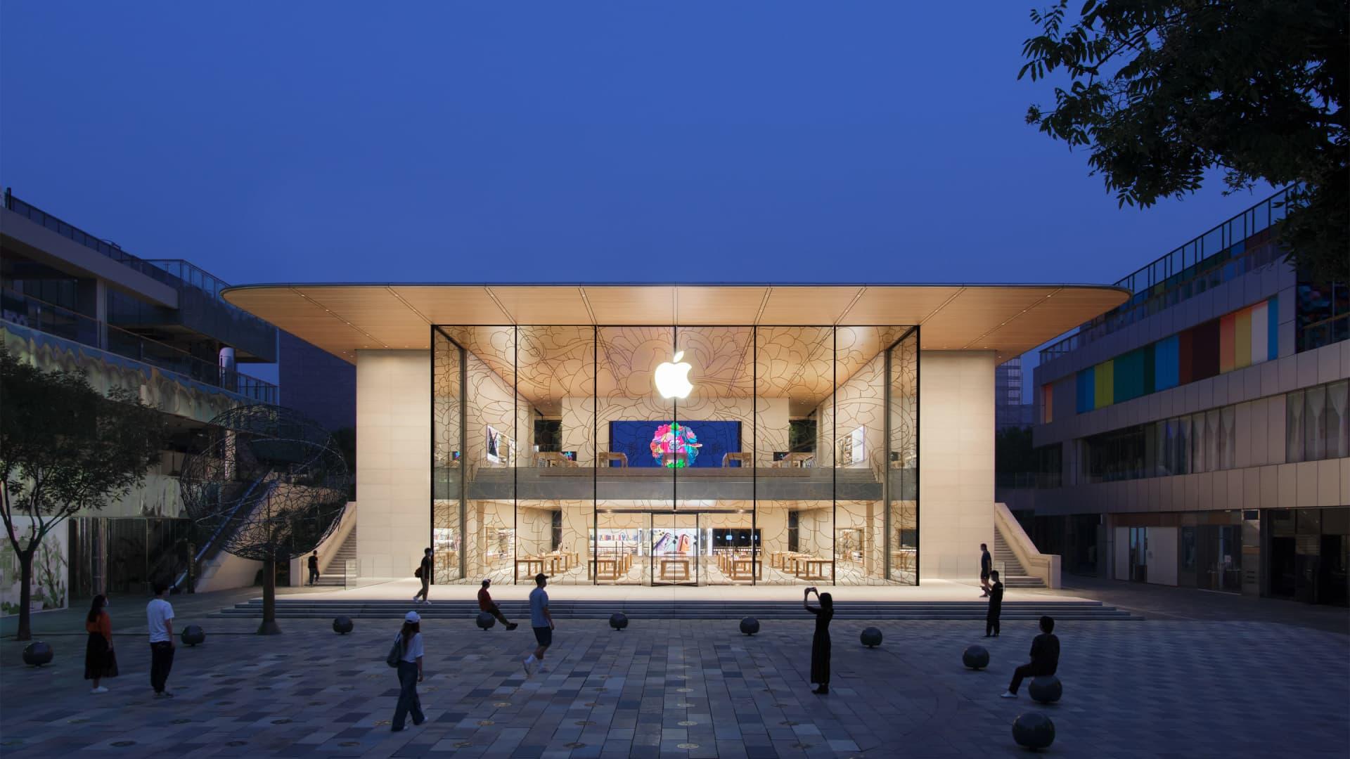 Apple Store Tienda Logo