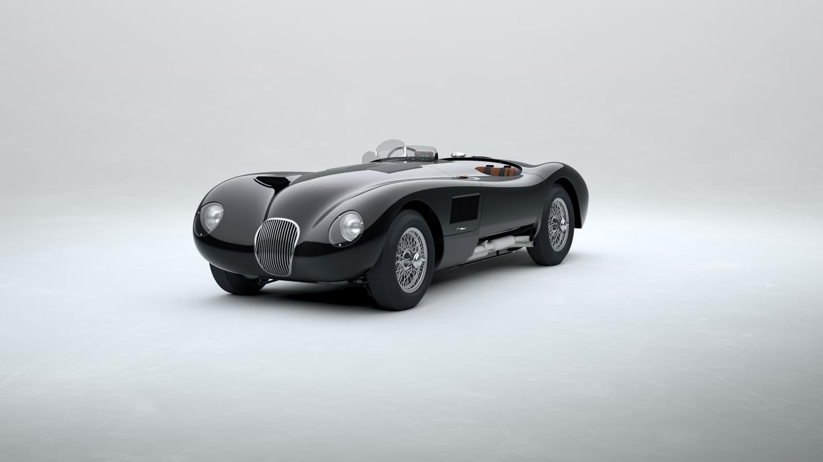 Jaguar C Type 2021 Le Mans 0121 001