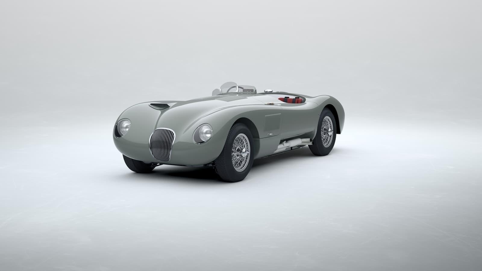 Jaguar C Type 2021 Le Mans 0121 002