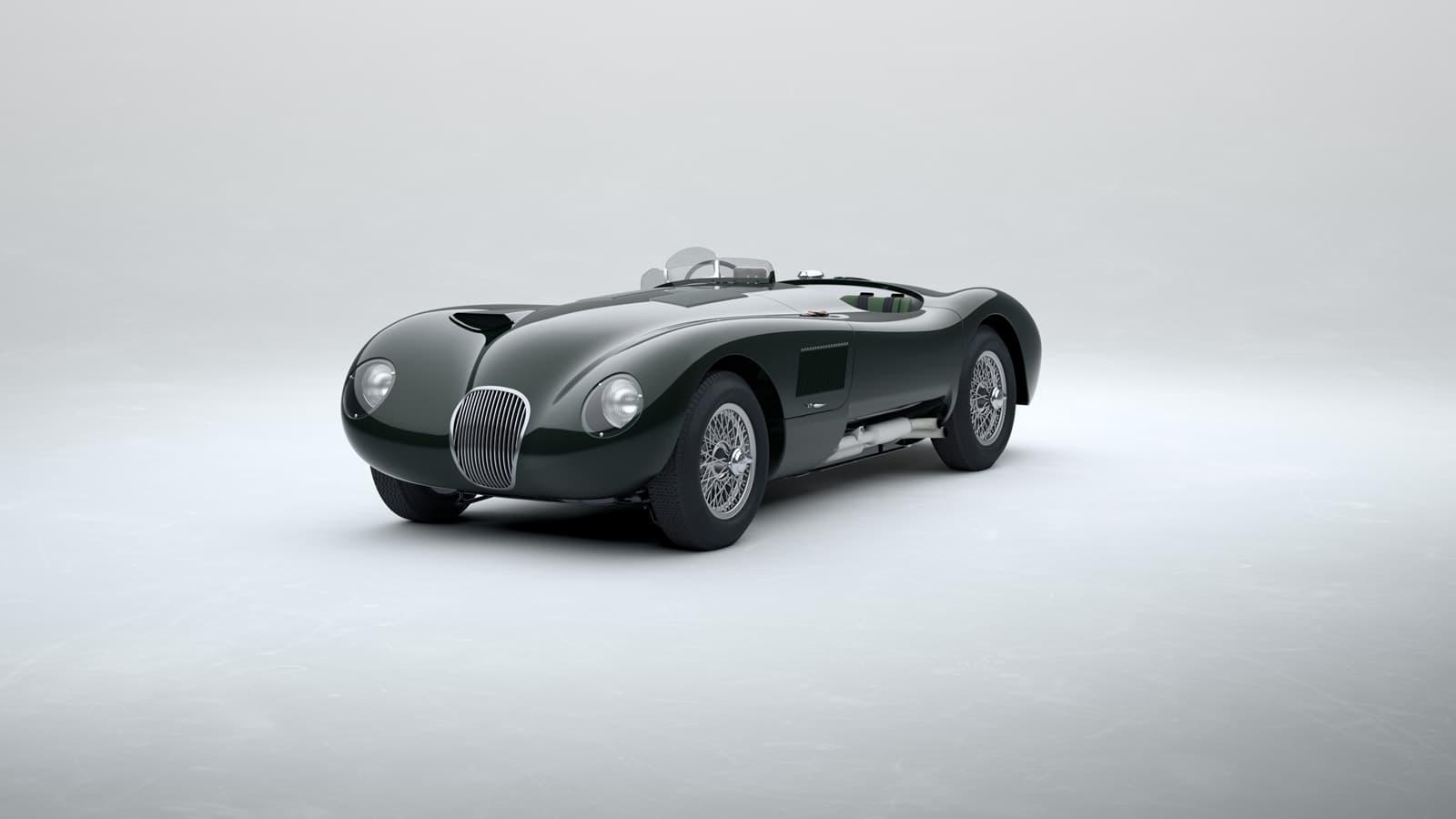 Jaguar C Type 2021 Le Mans 0121 003