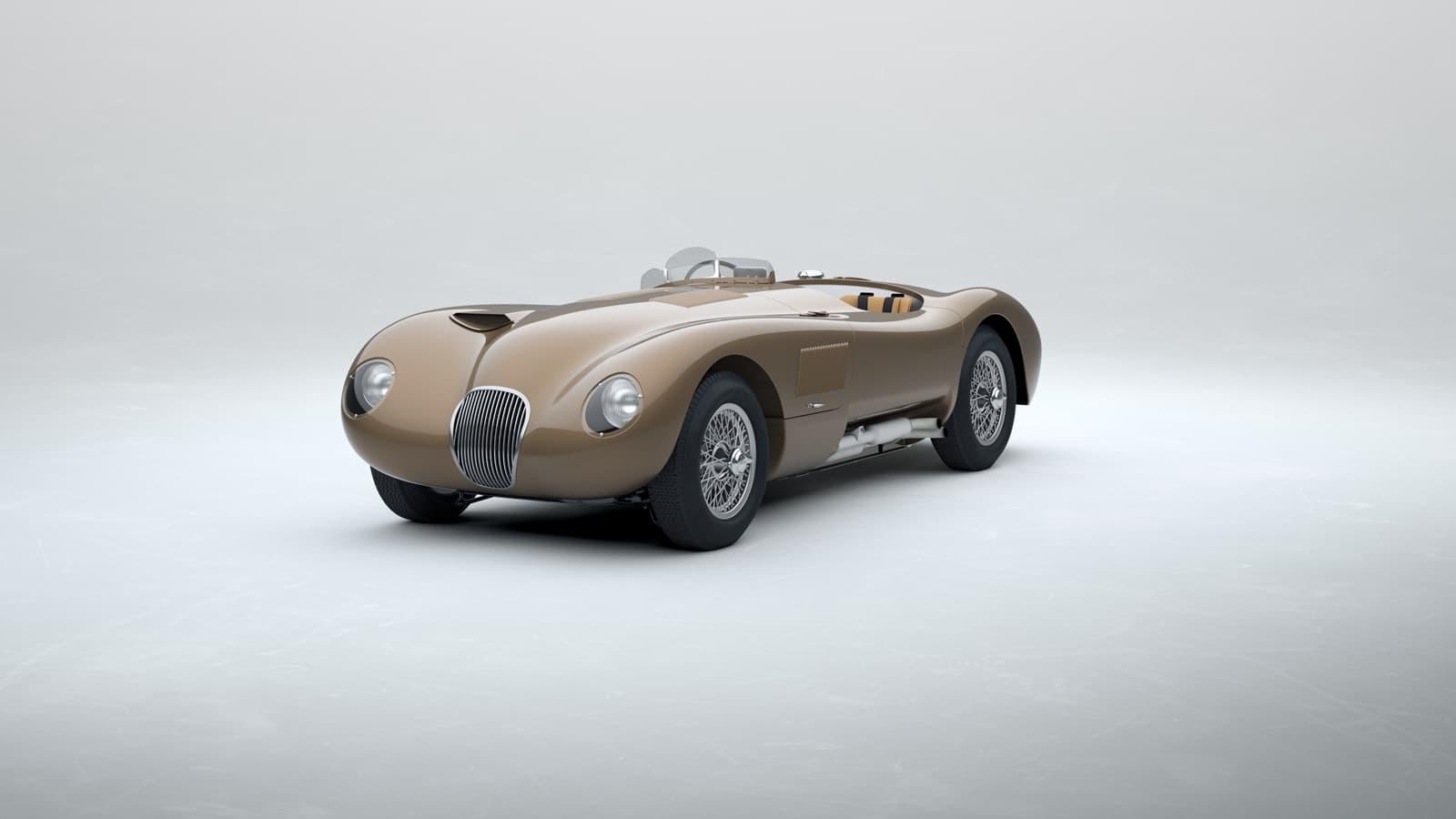 Jaguar C Type 2021 Le Mans 0121 004
