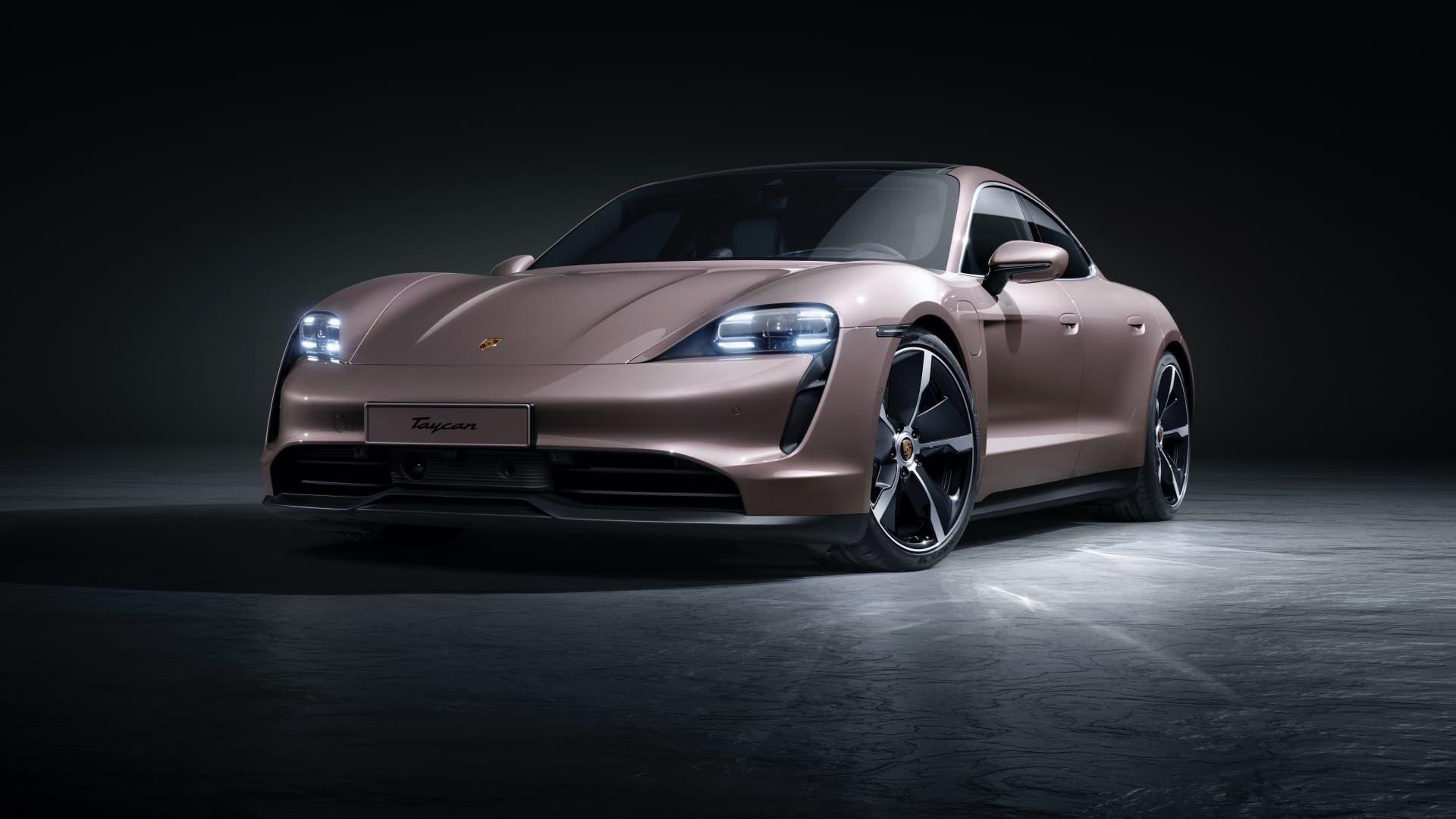 Porsche Taycan Rwd 2021 Traccion Trasera 01