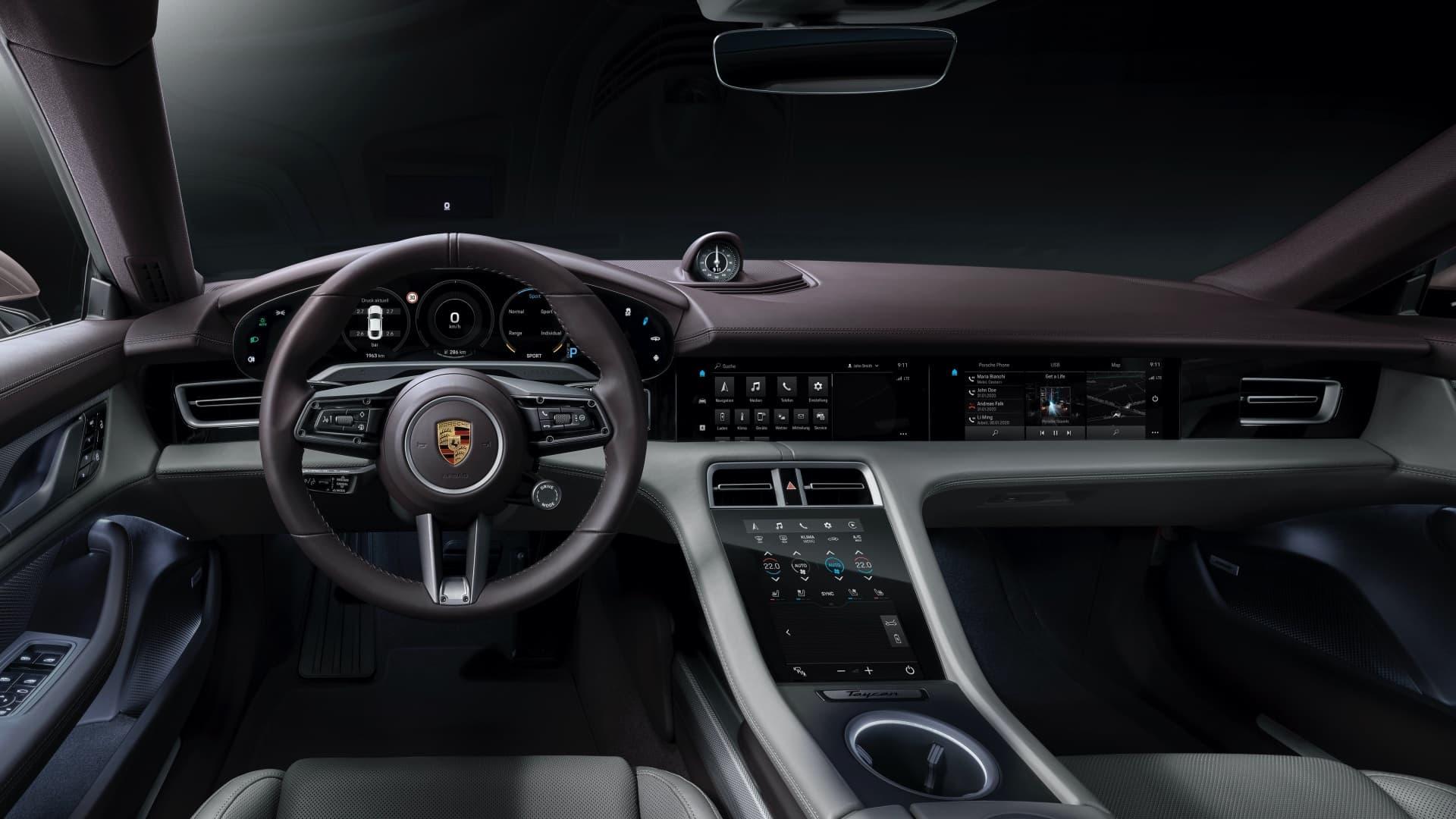 Porsche Taycan Rwd 2021 Traccion Trasera 09