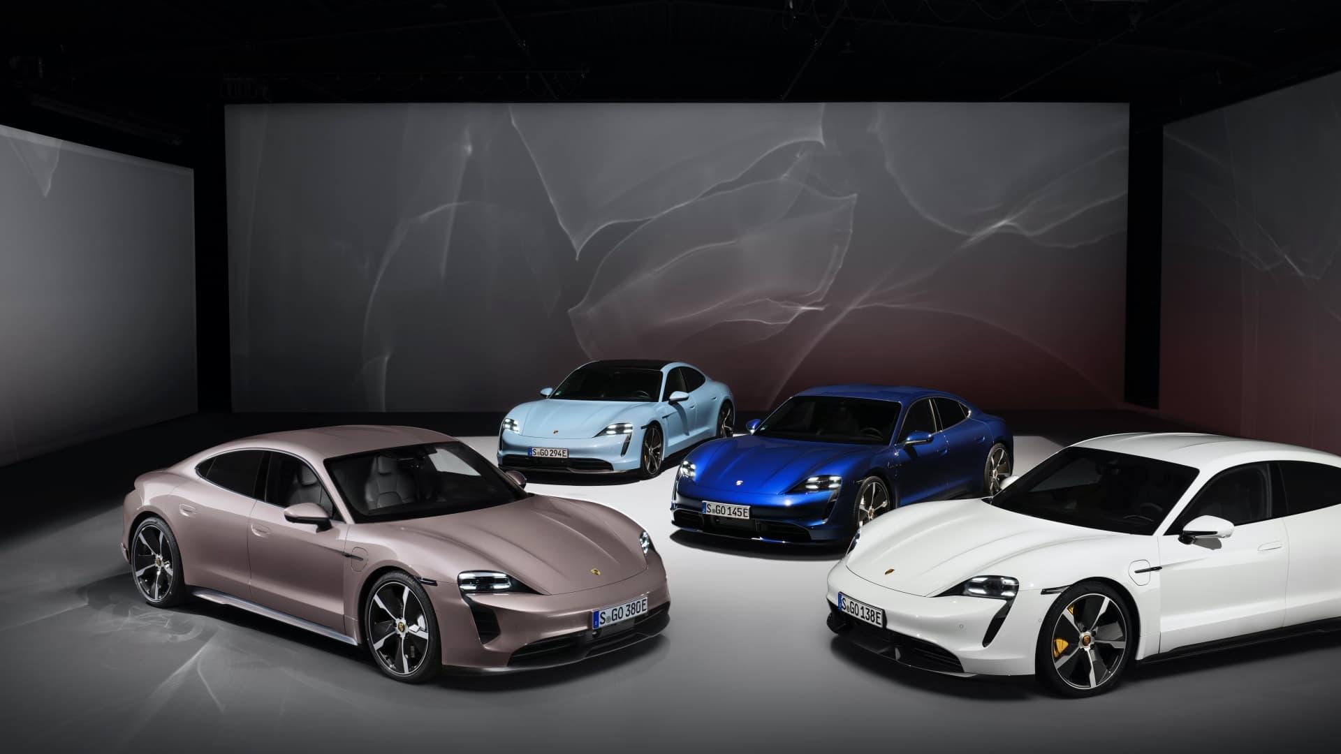 Porsche Taycan Rwd 2021 Traccion Trasera 12