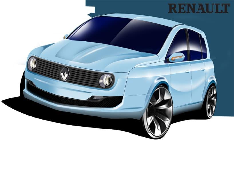 Renault 4 Concept Duarte Andrade 1