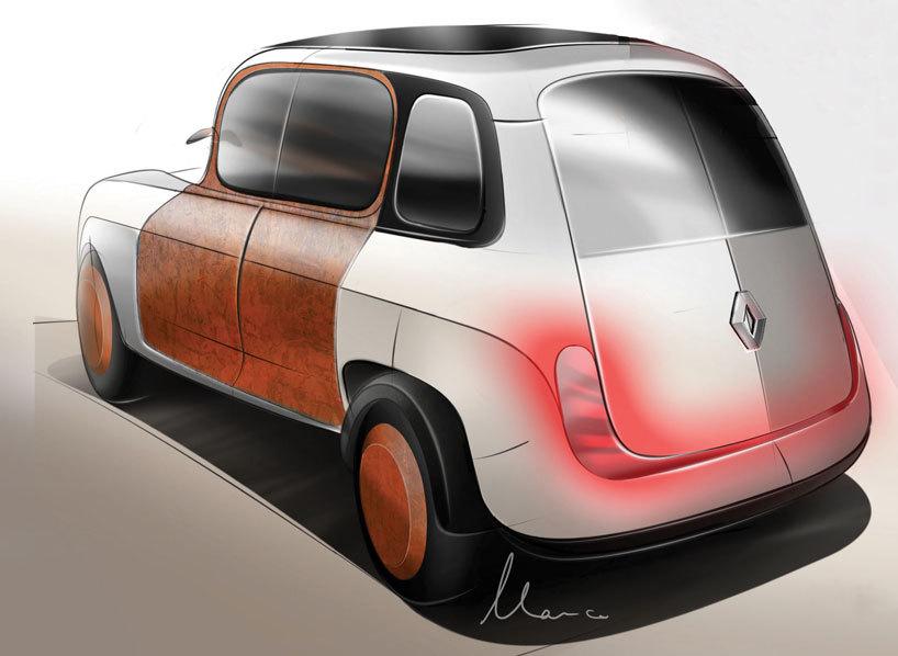 Renault 4 Remake Marco Van Leeuwen 1