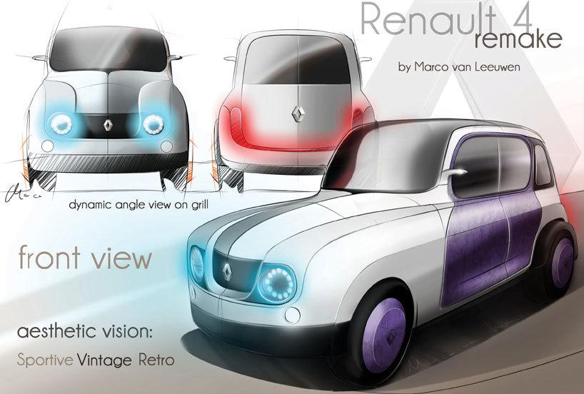 Renault 4 Remake Marco Van Leeuwen 2