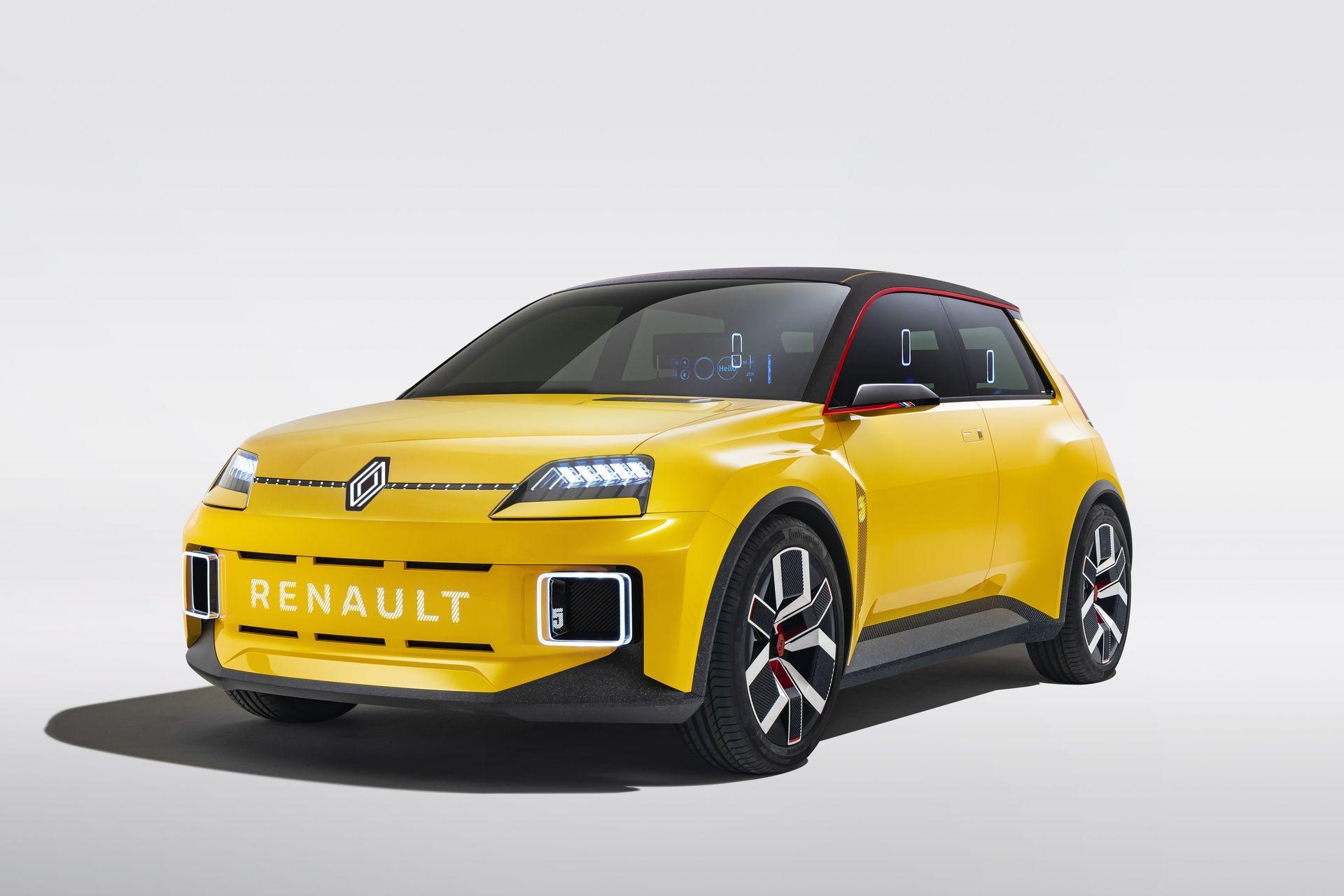 Renault 5 2022 Concept 1