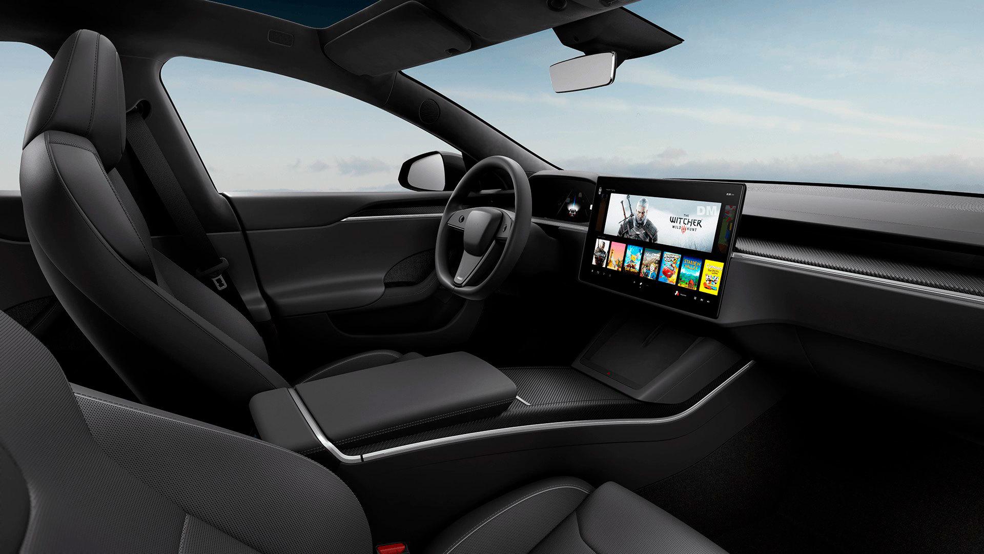 Tesla Model S 2021 Volante Circular 03