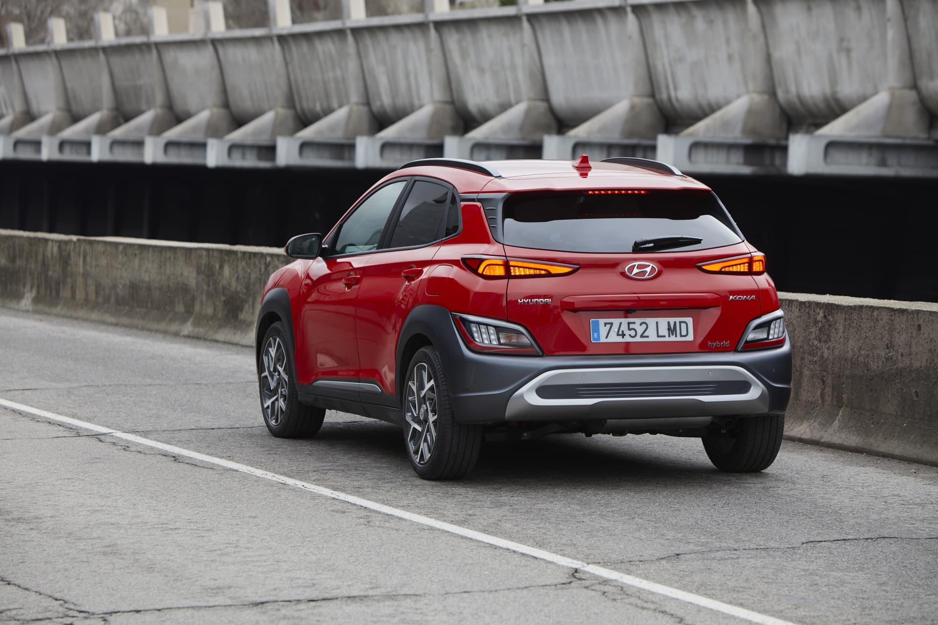 Hyundai Kona Hibrido Hev 2021 Prueba Analisis 9