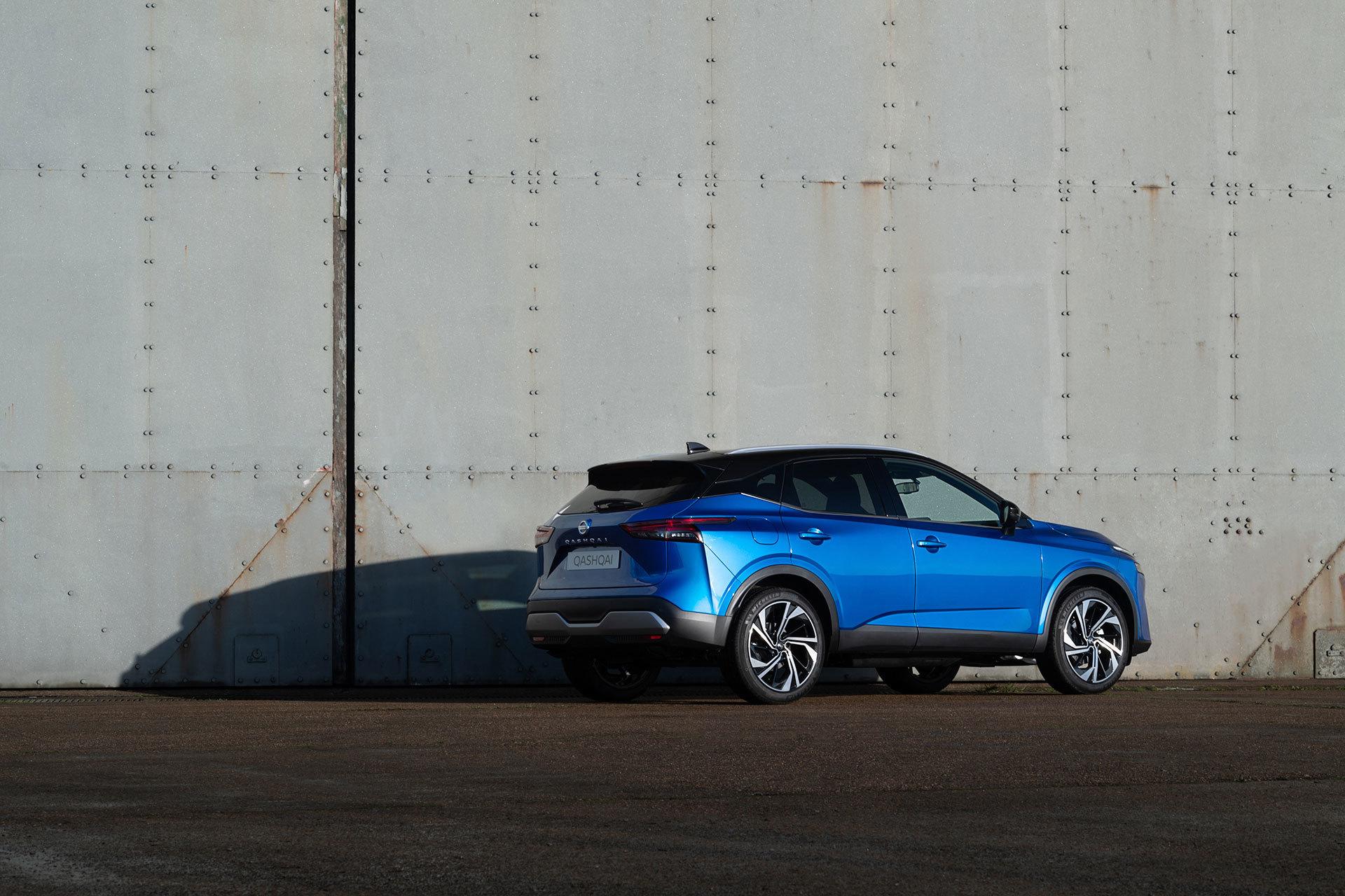 Nissan Qashqai 2021 Exterior Azul 31