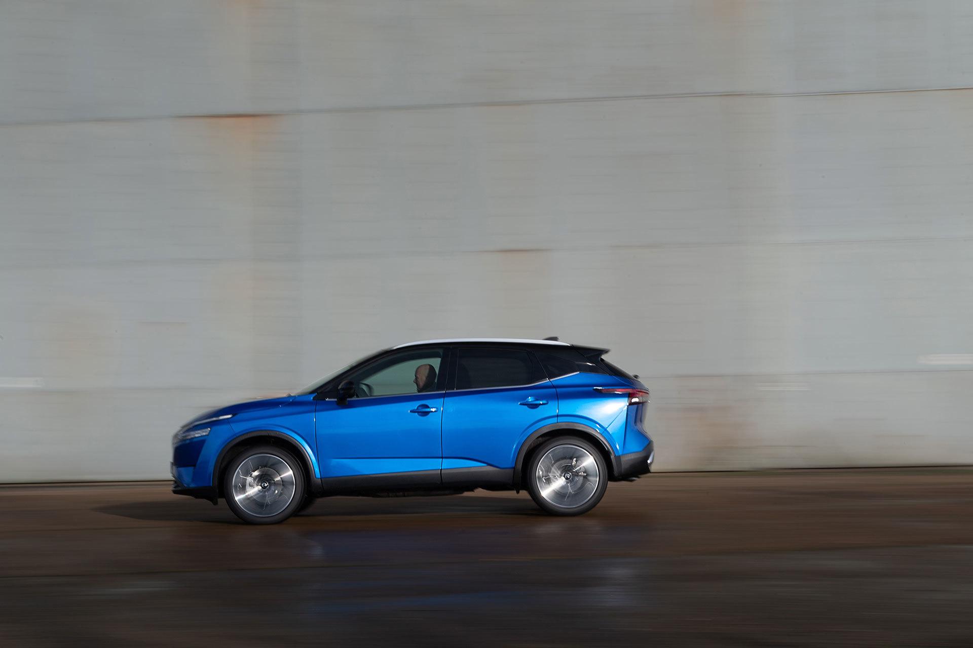 Nissan Qashqai 2021 Exterior Azul 33