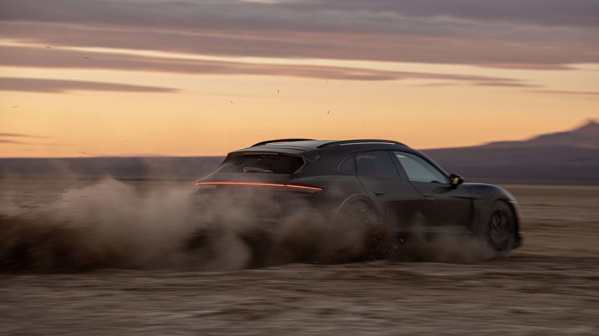 Porsche Taycan Cross Turismo Pruebas 2