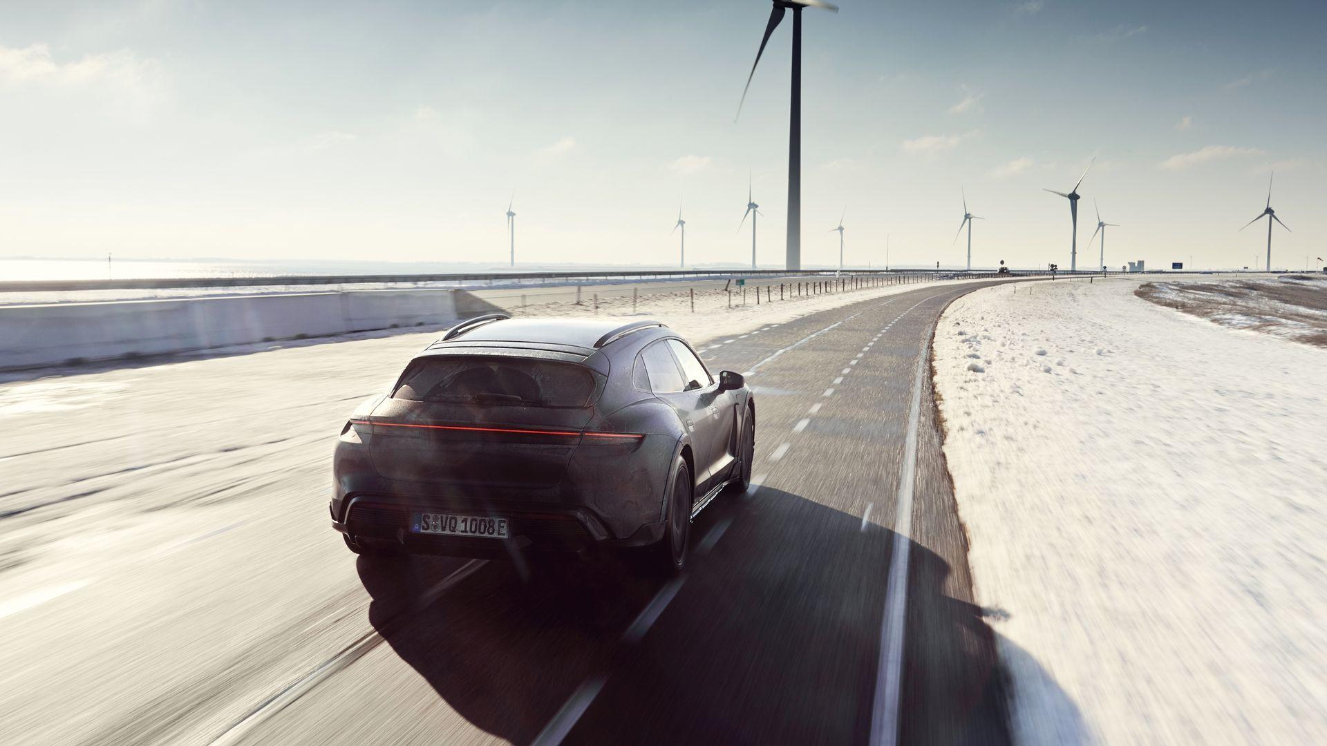 Porsche Taycan Cross Turismo Pruebas 6