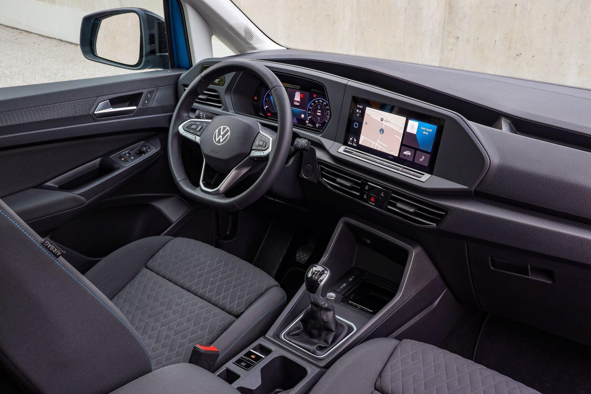 Volkswagen Caddy 2021 Prueba 3 Interior