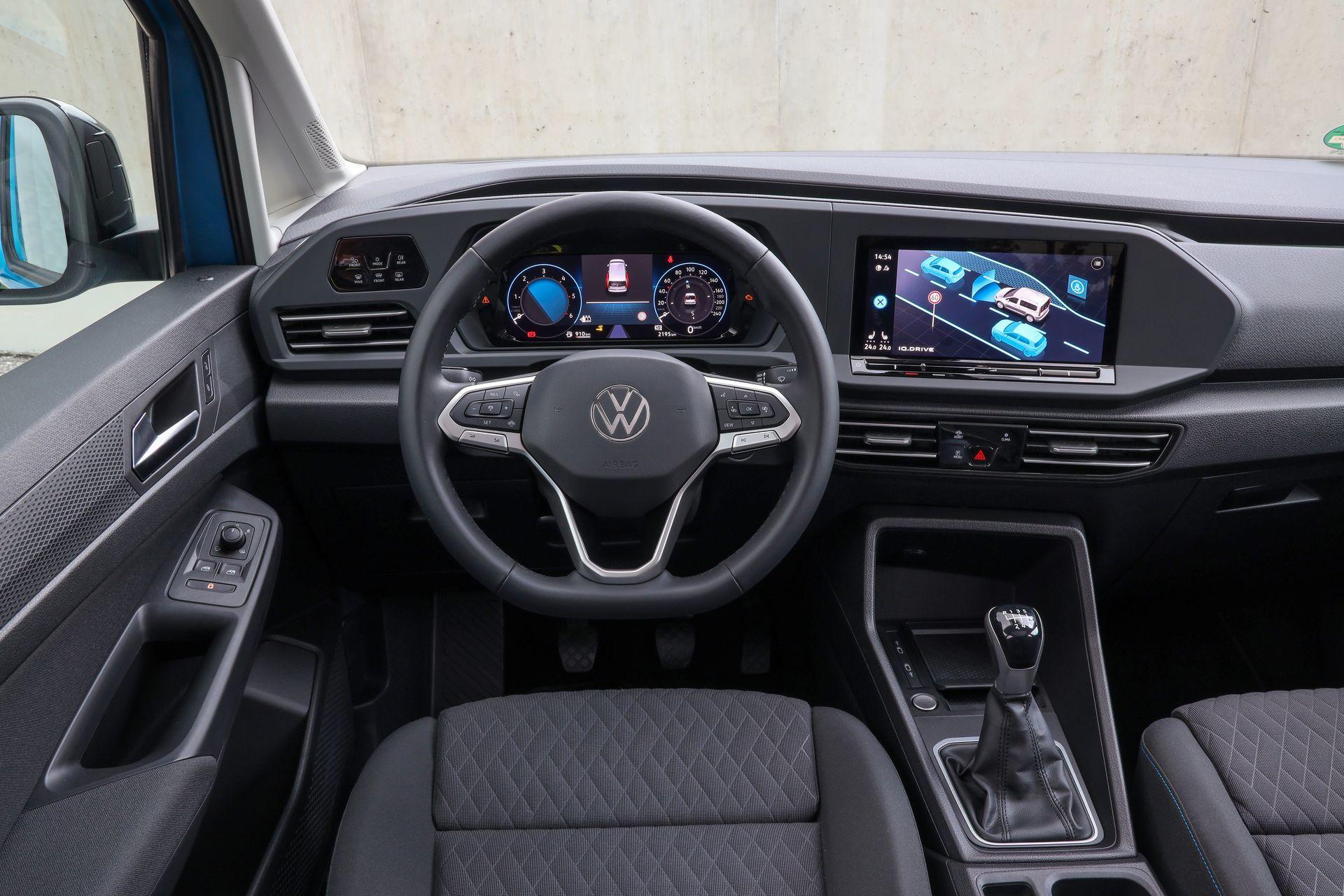 Volkswagen Caddy 2021 Prueba 5 Interior