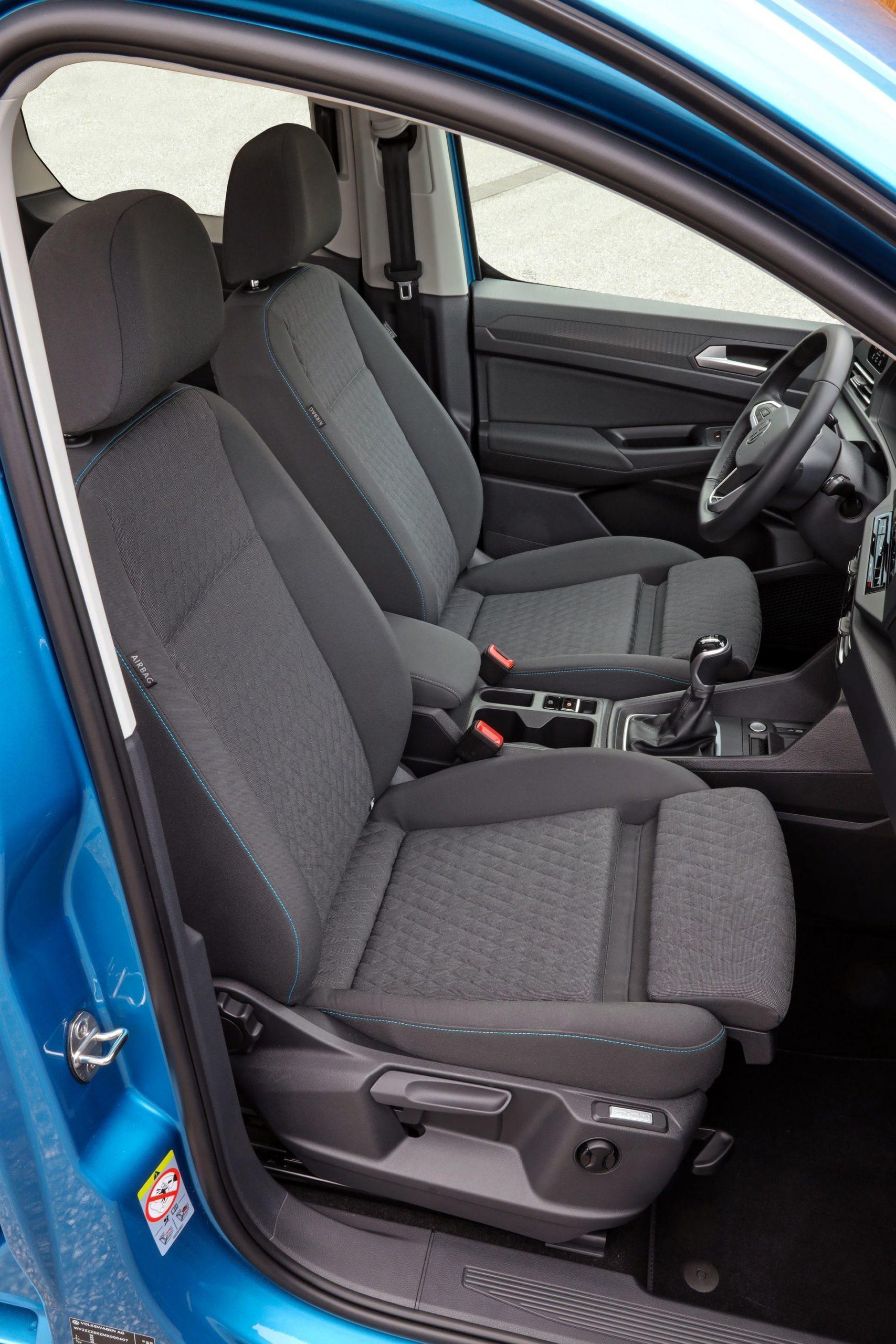 Volkswagen Caddy 2021 Prueba 7 Interior