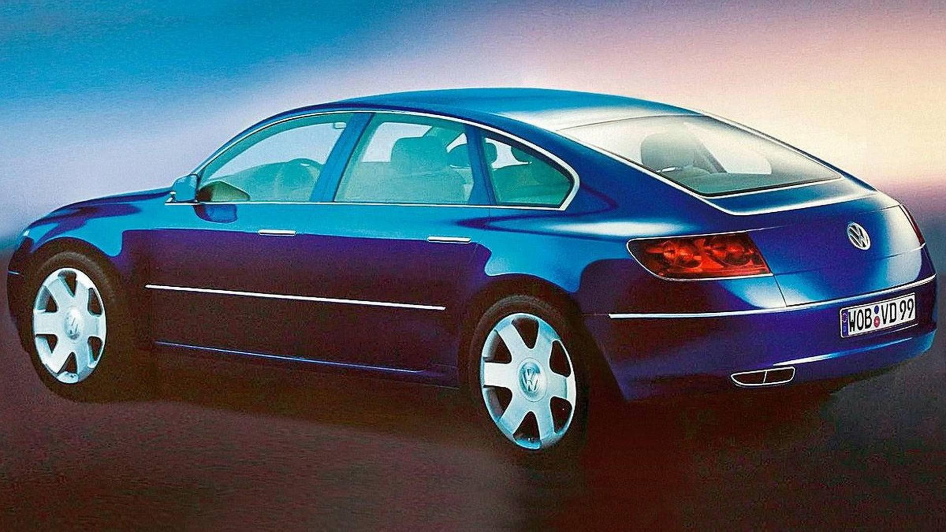 Volkswagen Concept D 1999 04