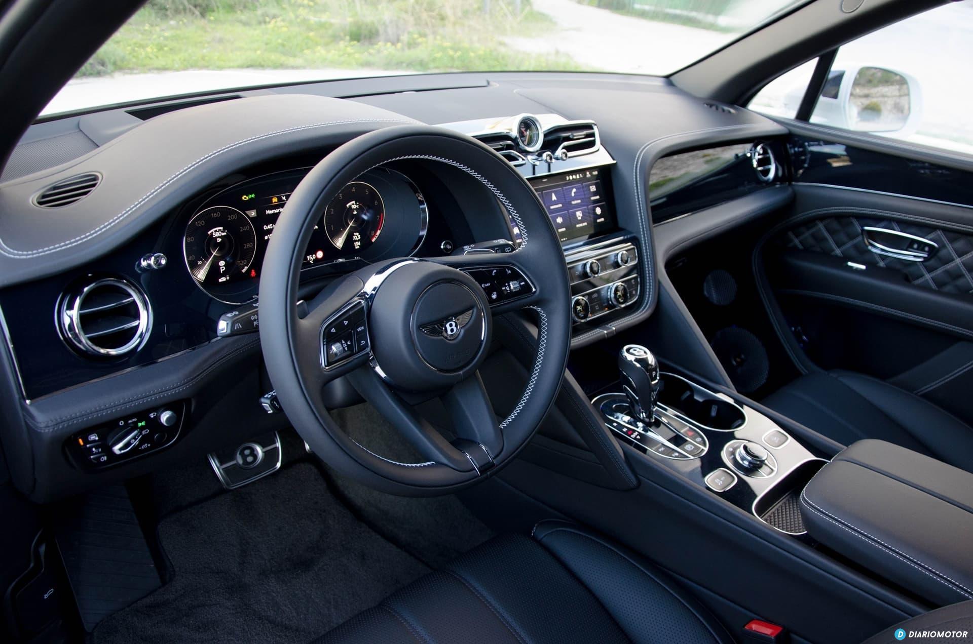 Bentley Bentayga V8 2021 0321 007 Interior Delante