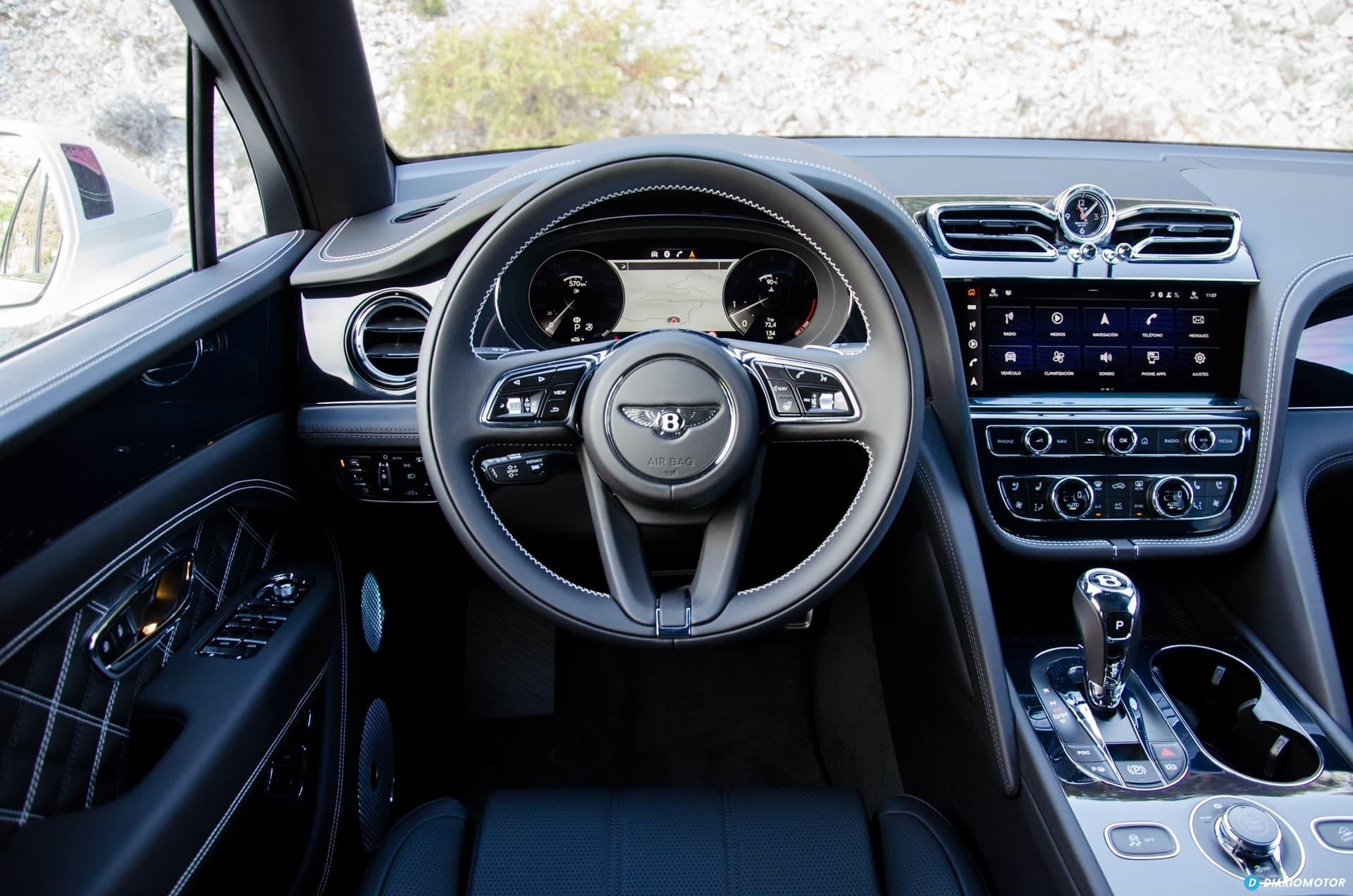 Bentley Bentayga V8 2021 0321 034 Interior Volante