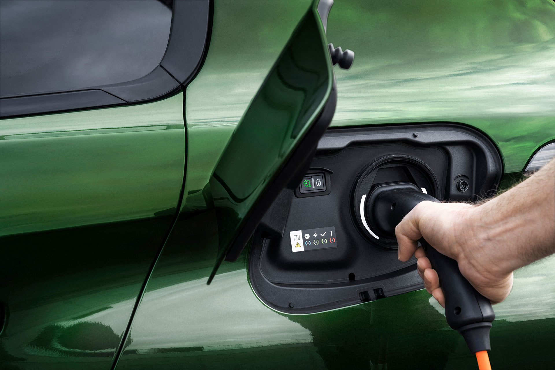 Peugeot 308 2021 Cargador Hibrido Enchufable 01