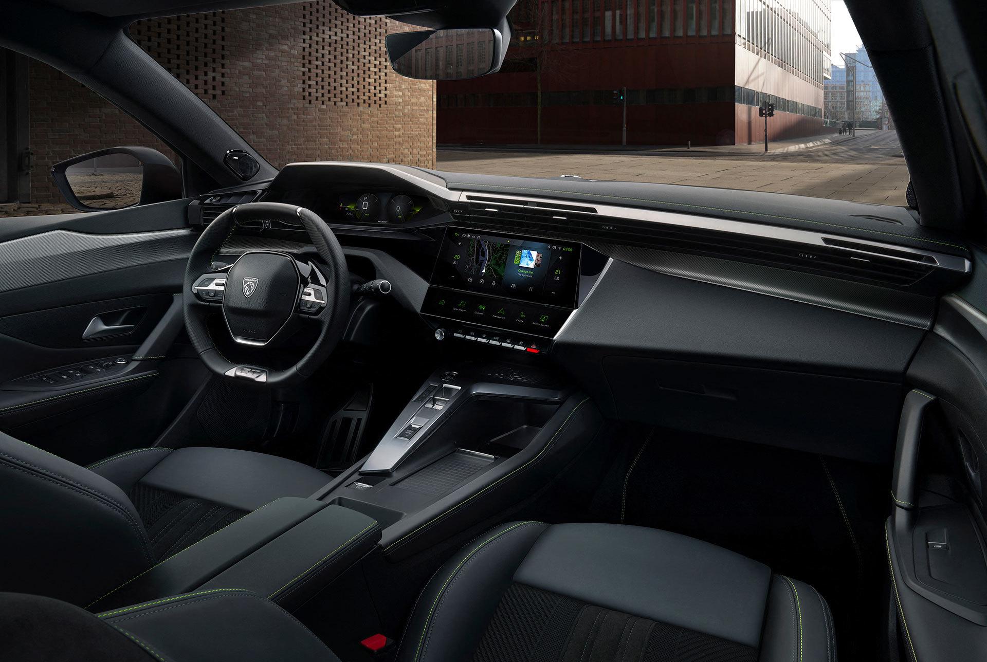 Peugeot 308 2021 Interior 01