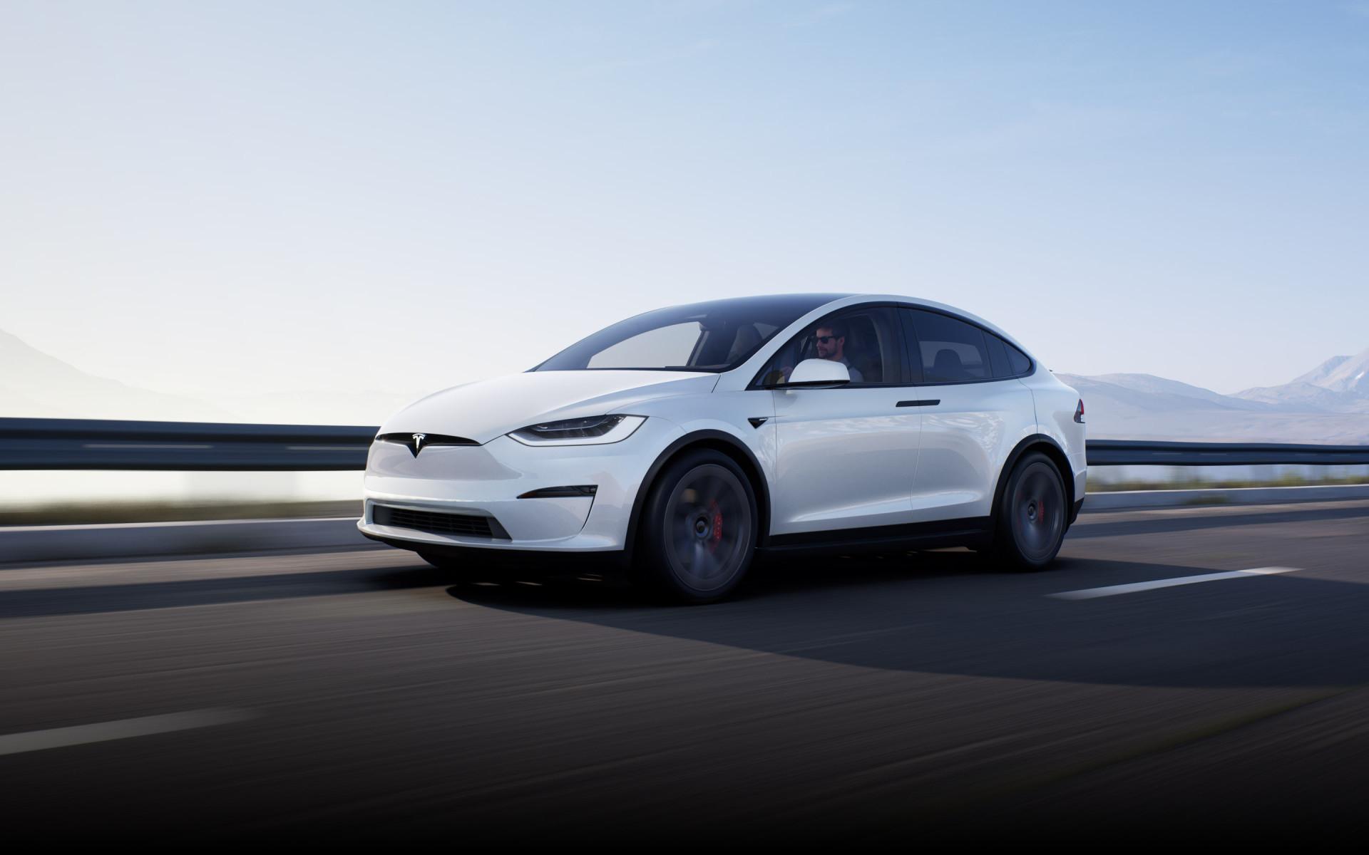 Tesla Model X Blanco 2021
