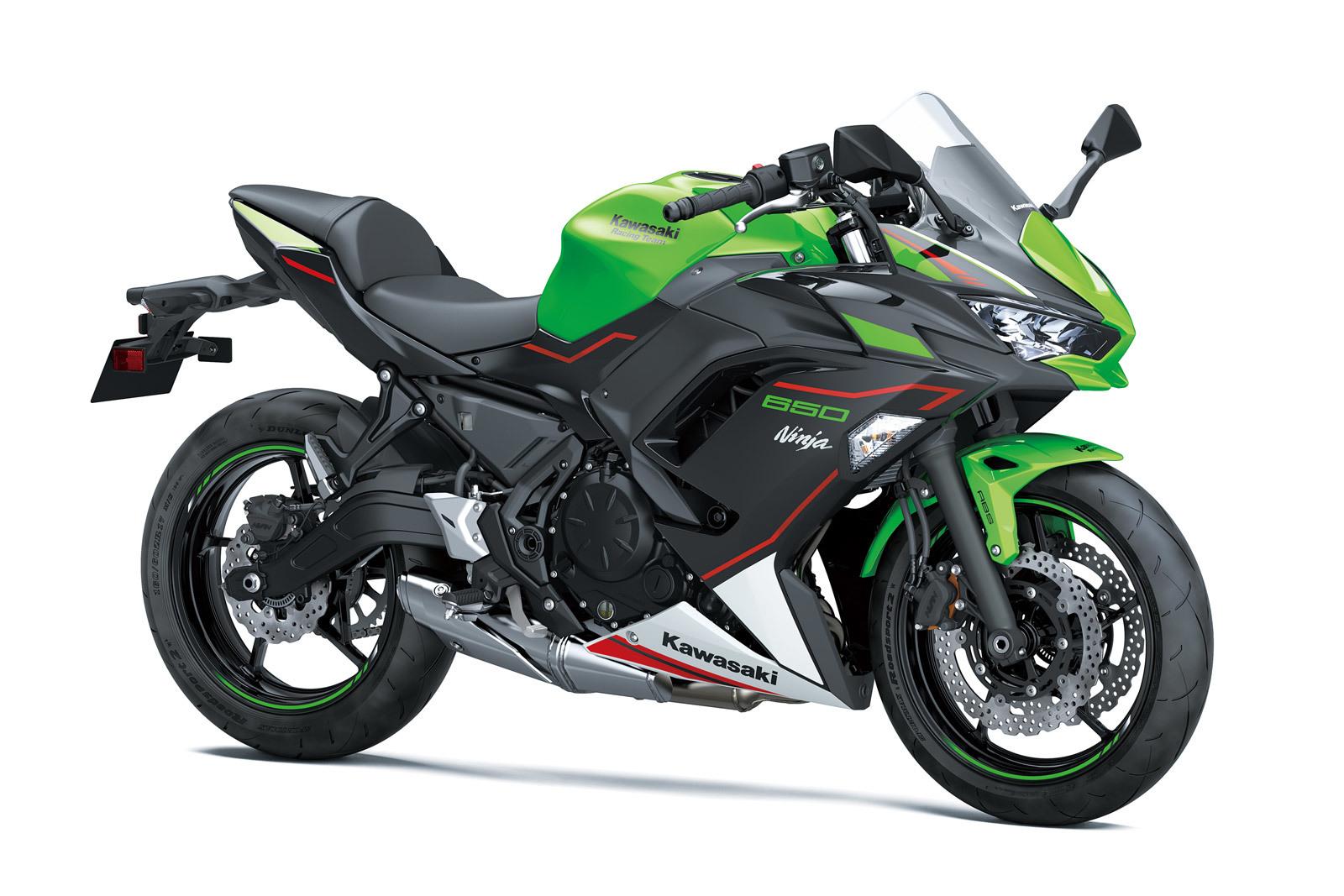 01 Kawasaki Ninja 650 2021 Estudio Verde
