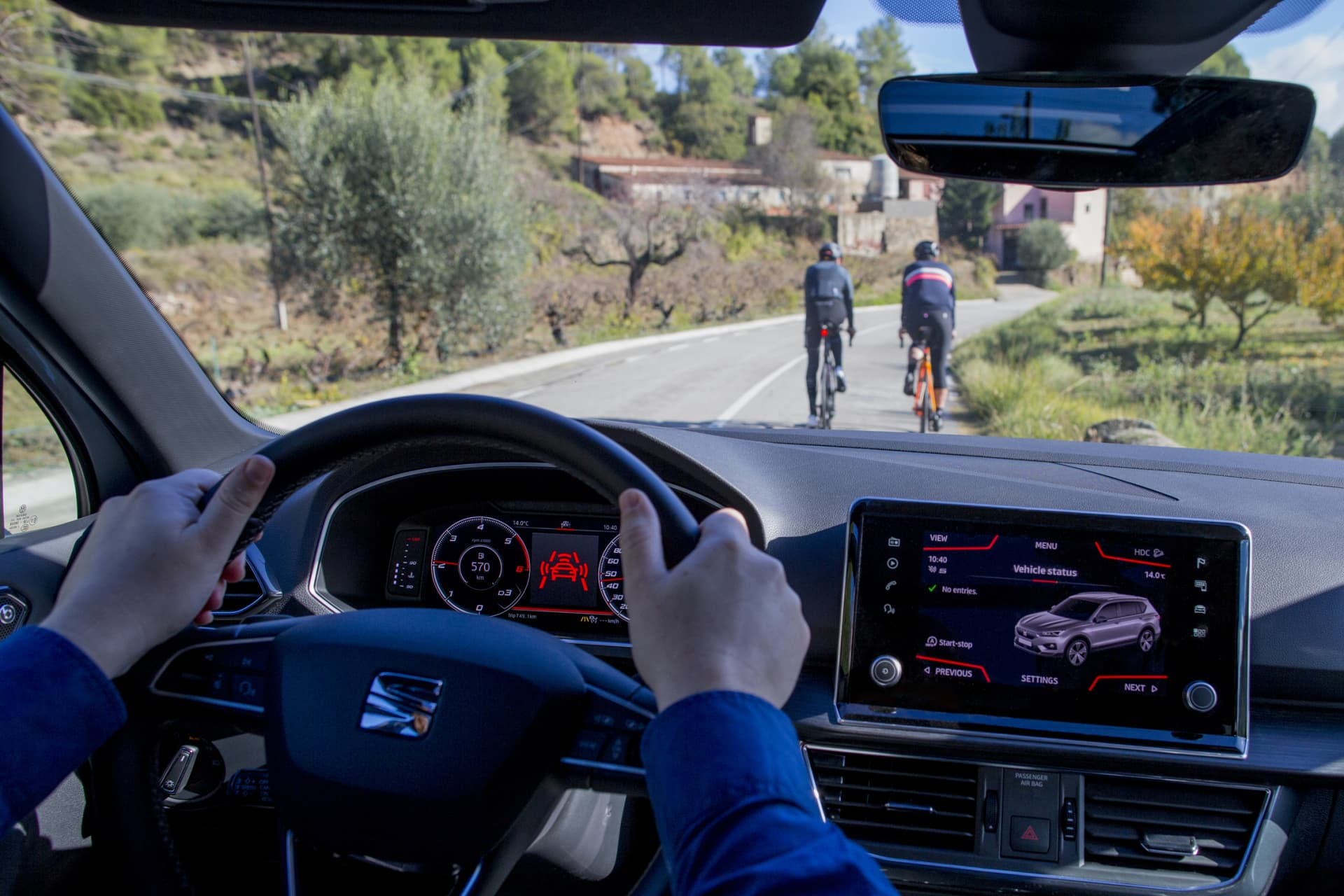 Adelantar Correctamente Ciclistas Biciletas 06