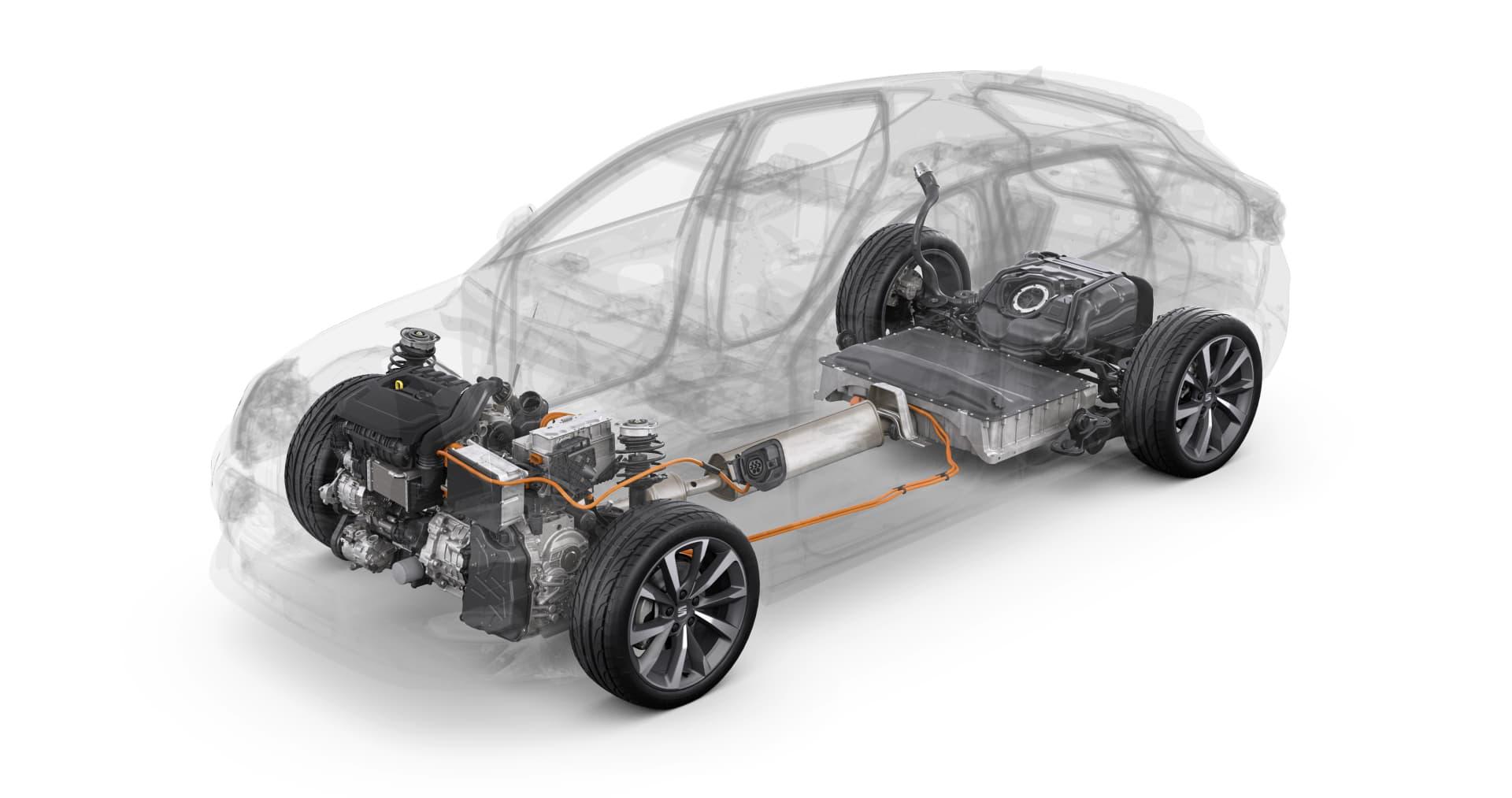 Guia Consejos Compra Coche Phev Seat Leon Ehybrid Esquema Motor
