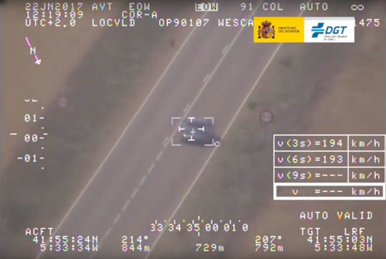 Margen Error Dgt Radar Pegasus Helicoptero Foto