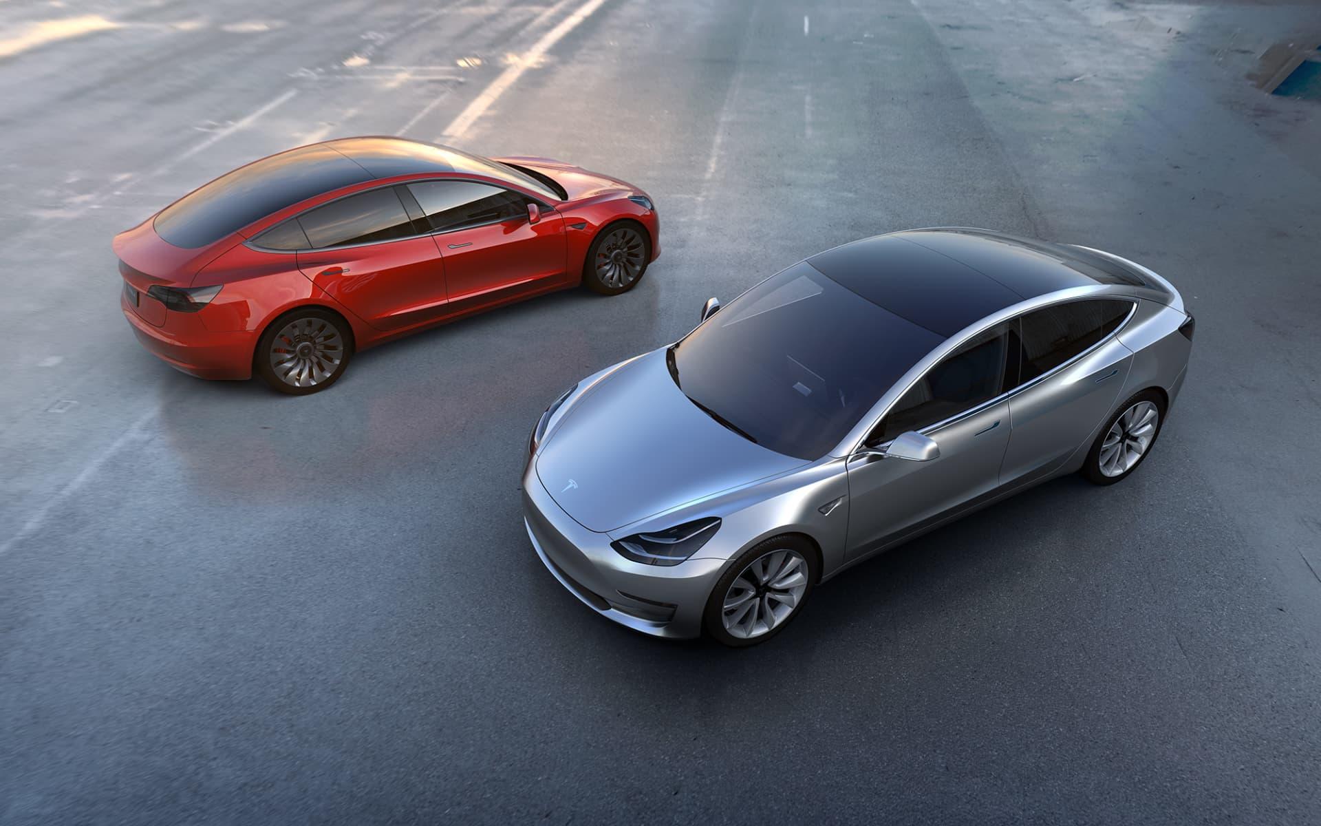 Matriculaciones Marzo 2021 Tesla Model 3