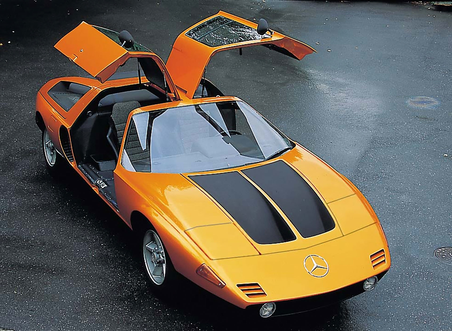 Mercedes C111 Motor Rotativo 05