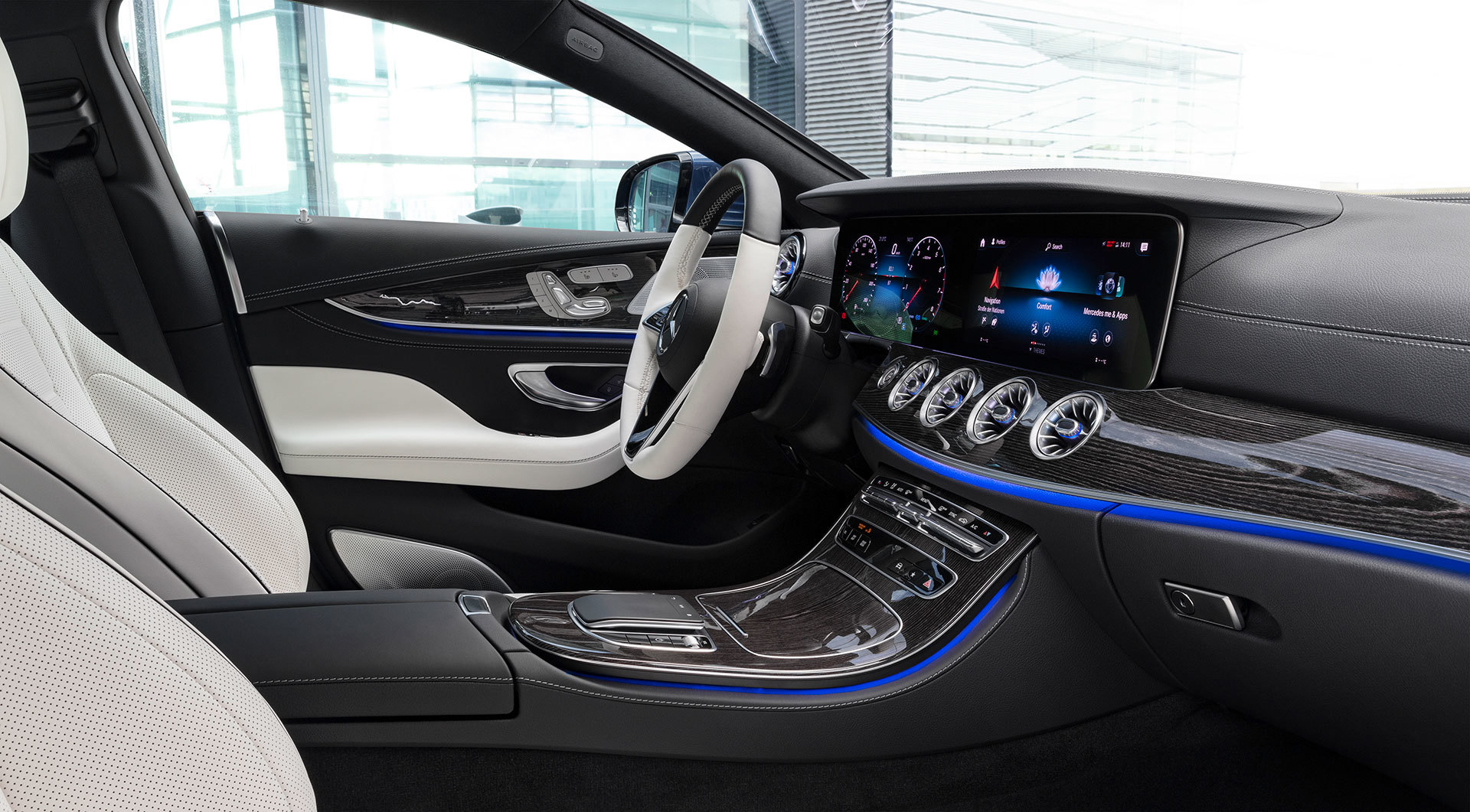 Mercedes Cls Coupe 2021 Interior Amg Line 034