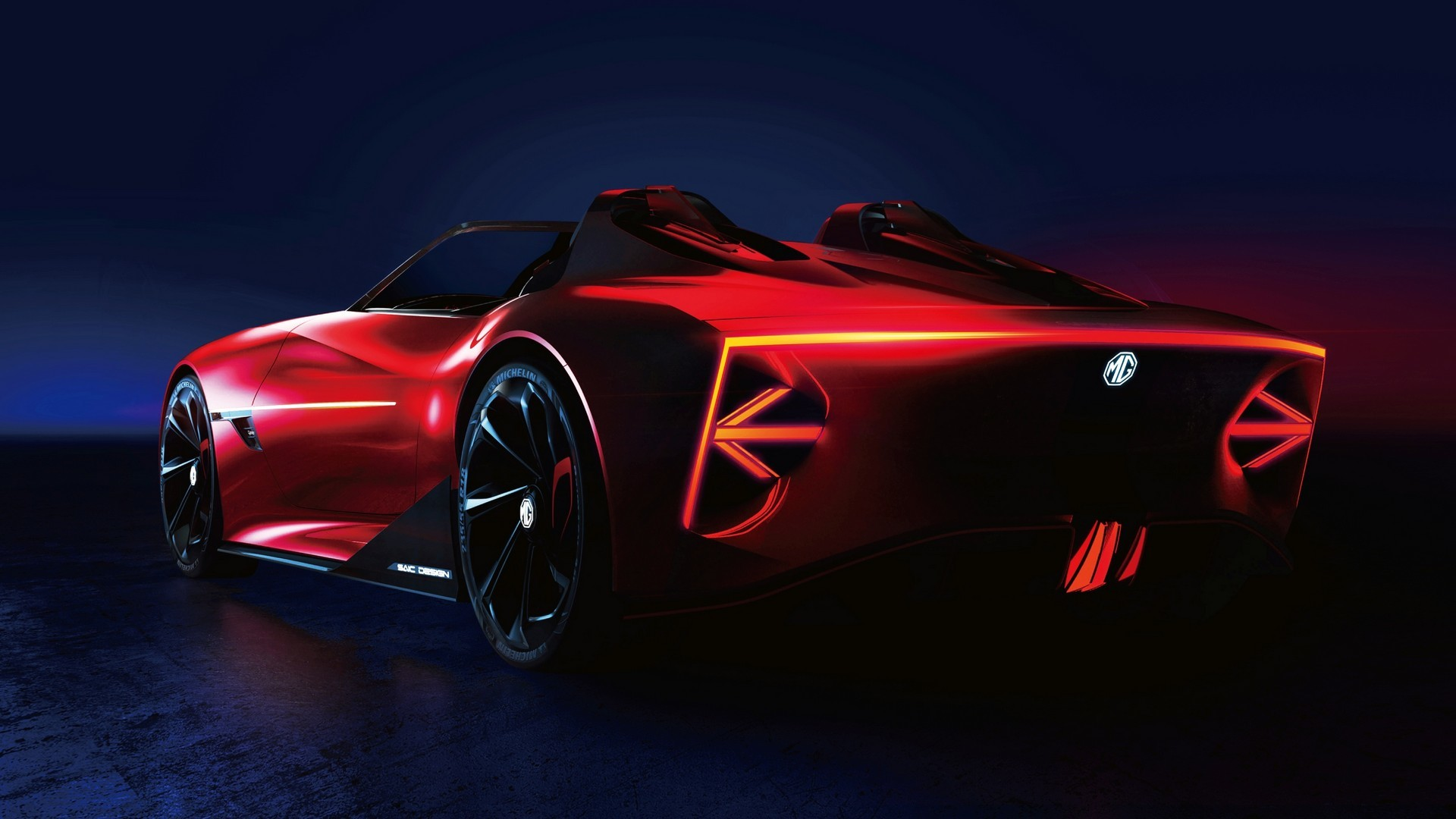 Mg Cyberster Concept 1