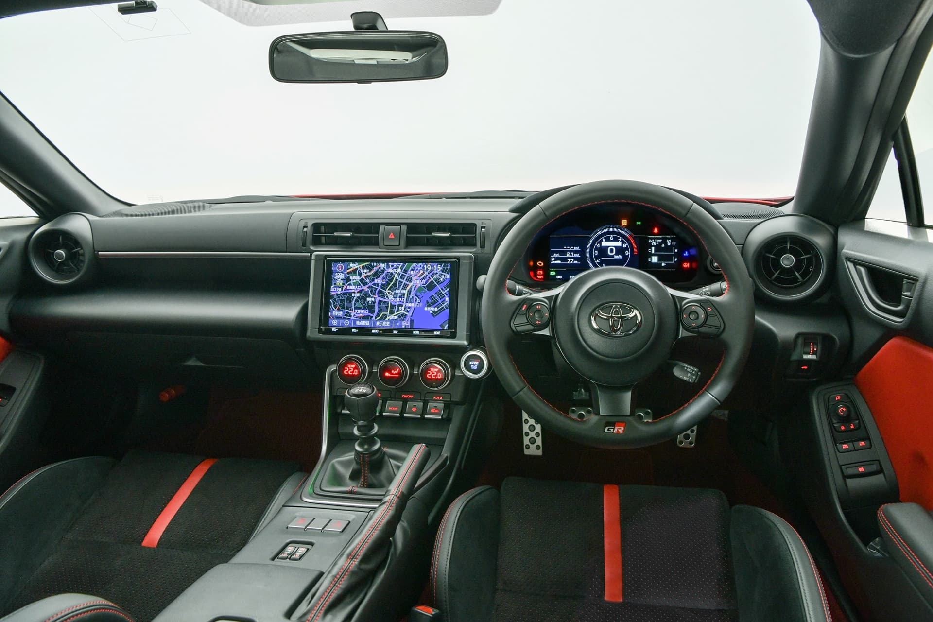 Toyota Gr86 2022 Interior Volante 0421 008