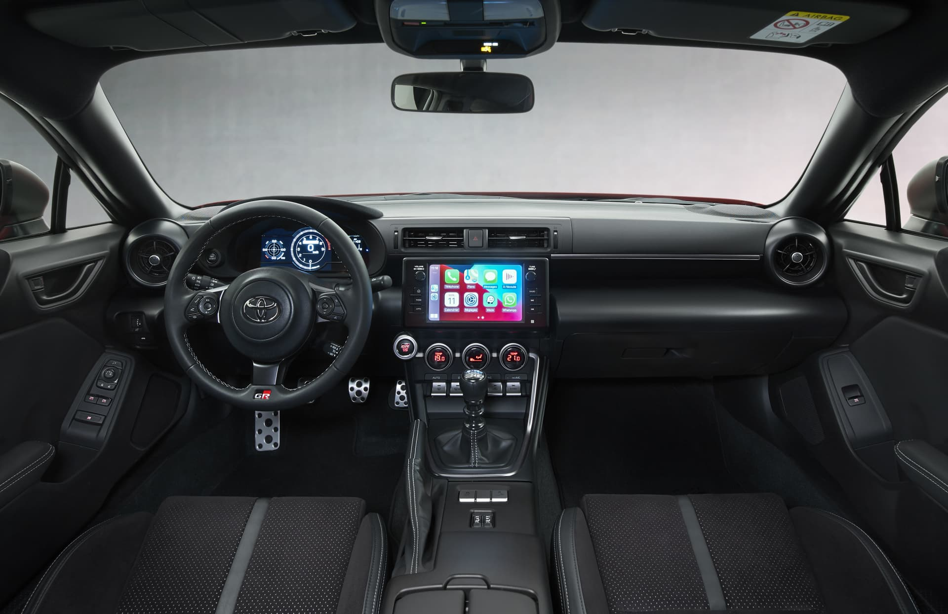 Toyota Gr86 2022 Interior Volante Pantallas 0421 008