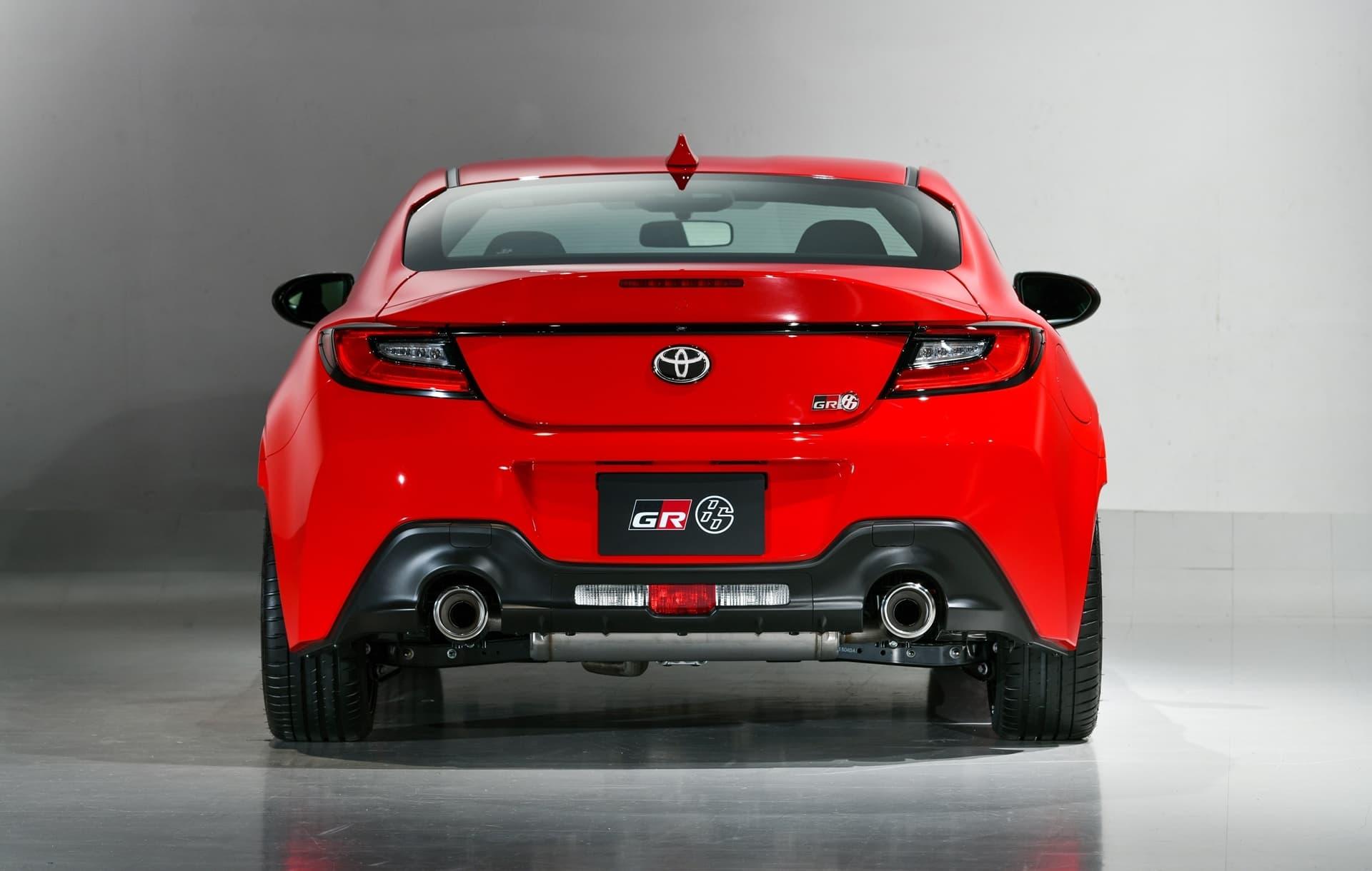 Toyota Gr86 2022 Rojo Trasera Escapes 0421 004