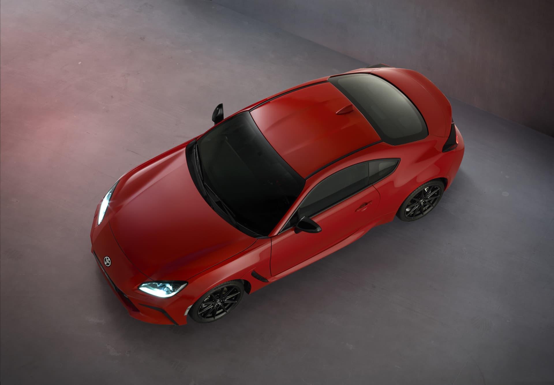 Toyota Gr86 2022 Rojo Vista Superior 0421 001