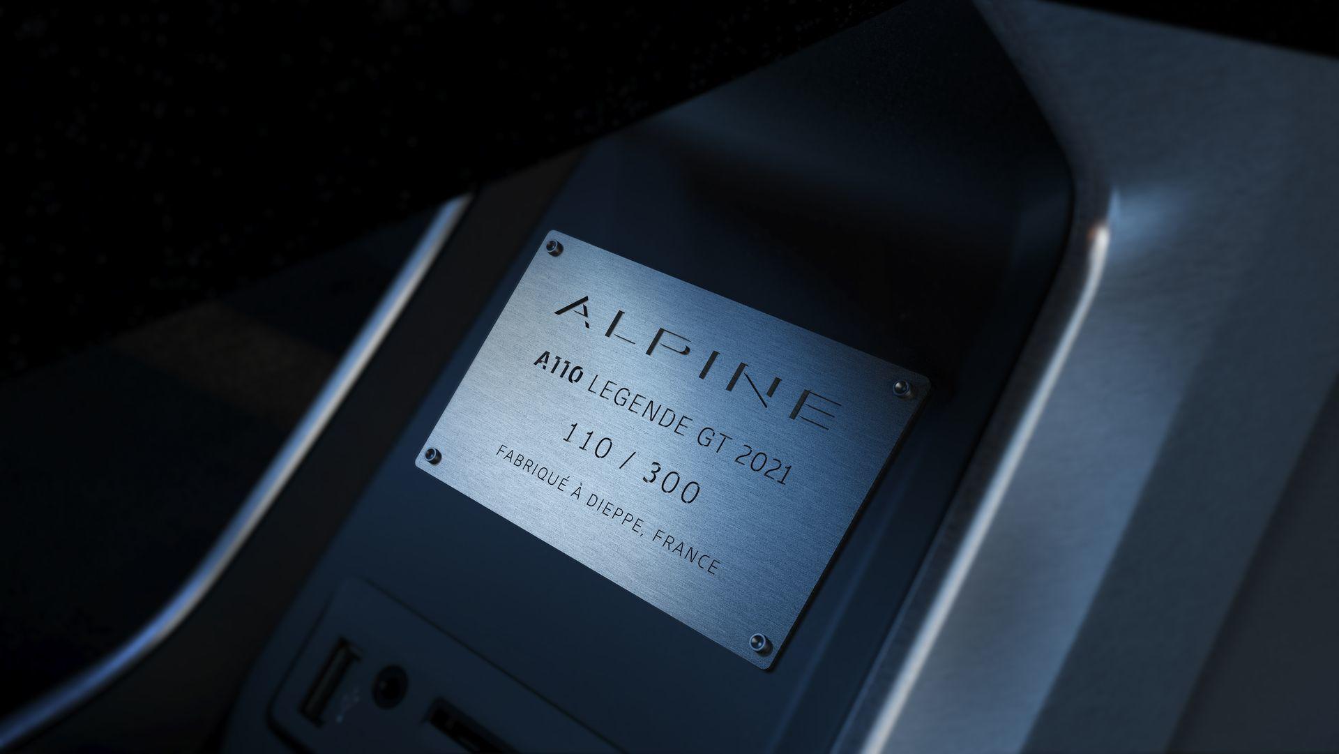 Alpine A110 Legende Gt