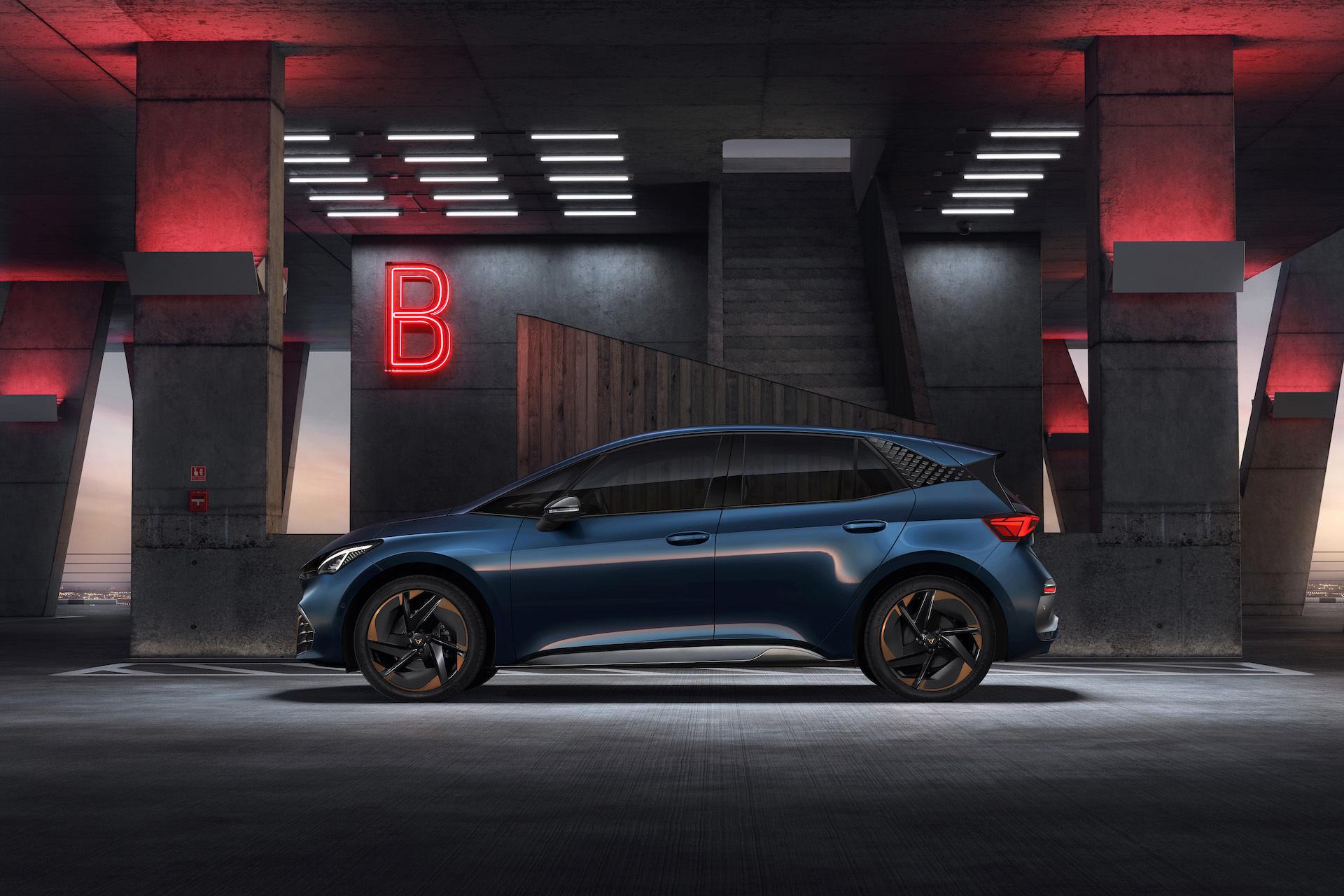 Cupra Born Electrico 2021 Aurora Blue 3