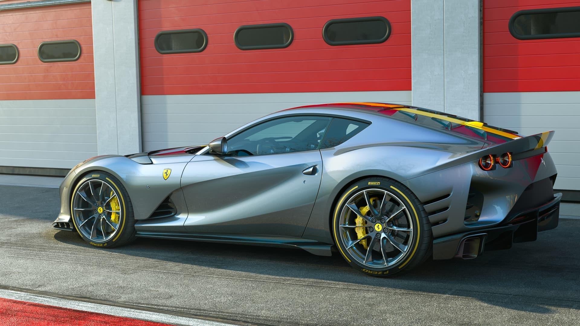 Ferrari 812 Competizione 2021 0521 008