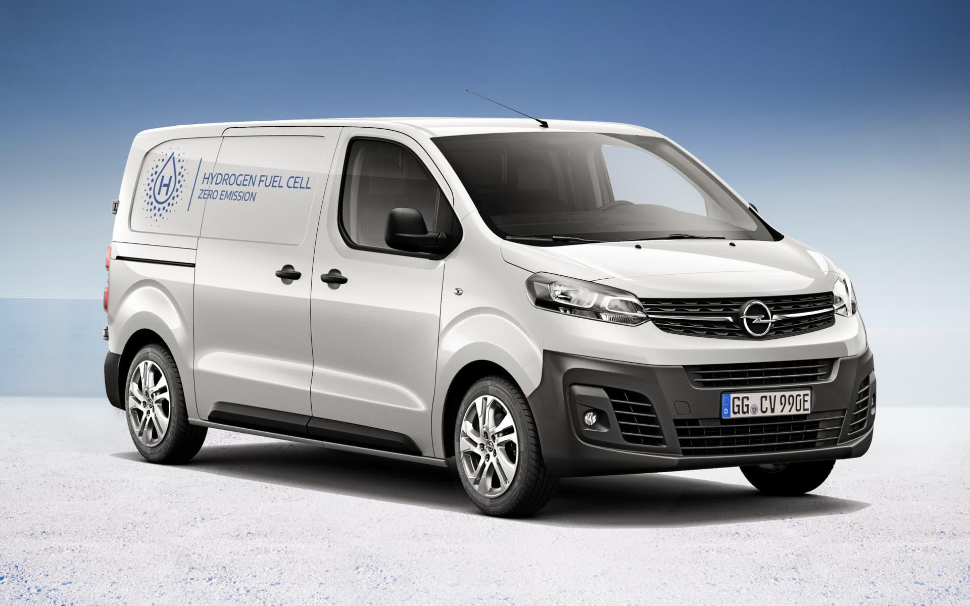 Opel Vivaro Mit Wasserstoff Antrieb
