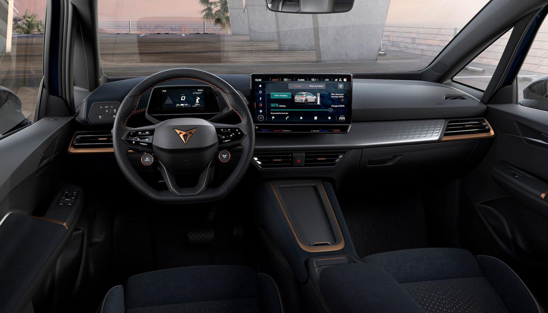 Interior Cupra Born Electrico 2021 15