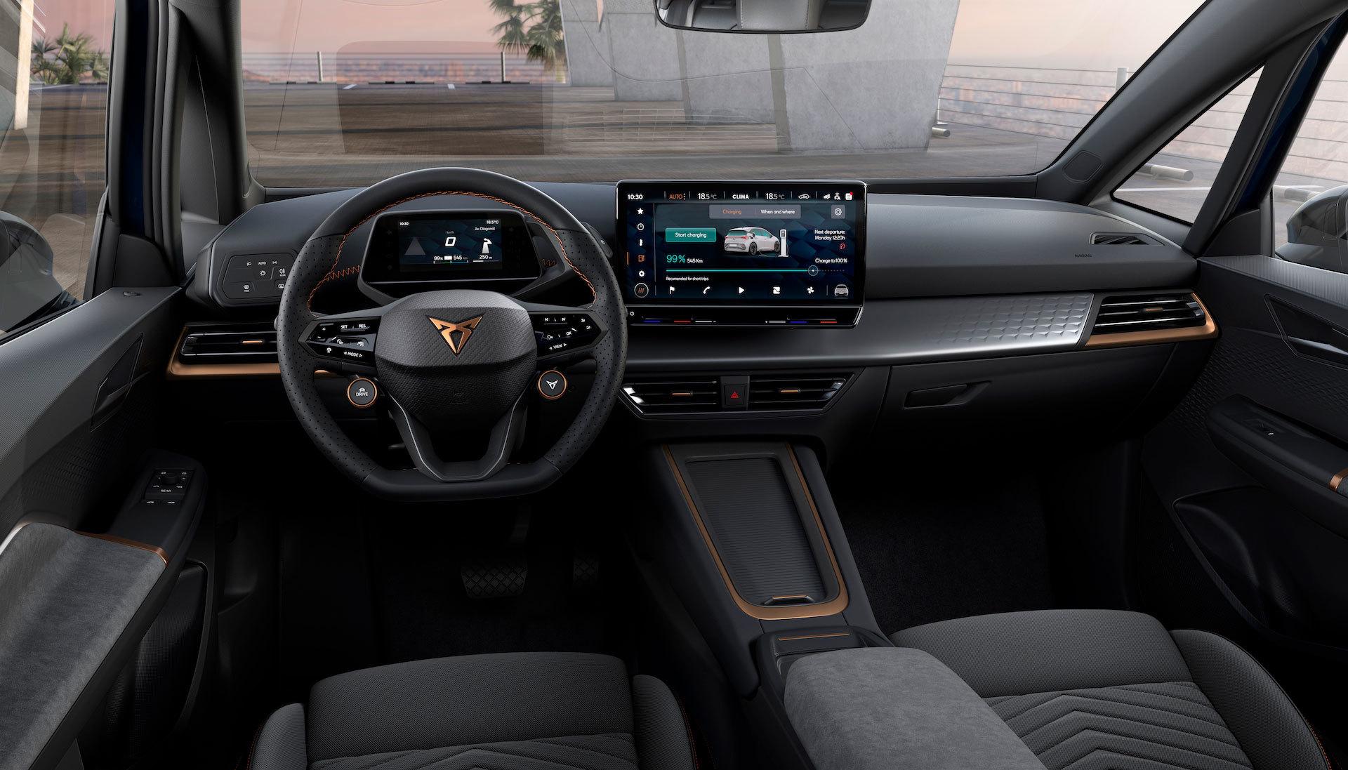 Interior Cupra Born Electrico 2021 34