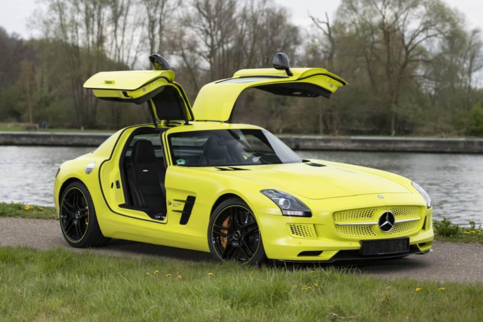 Mercedes Benz Sls Amg Electric Drive 02